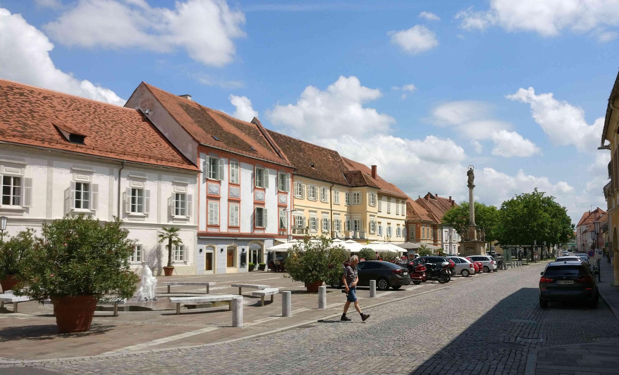 Hauptplatz in Bad Radkersburg