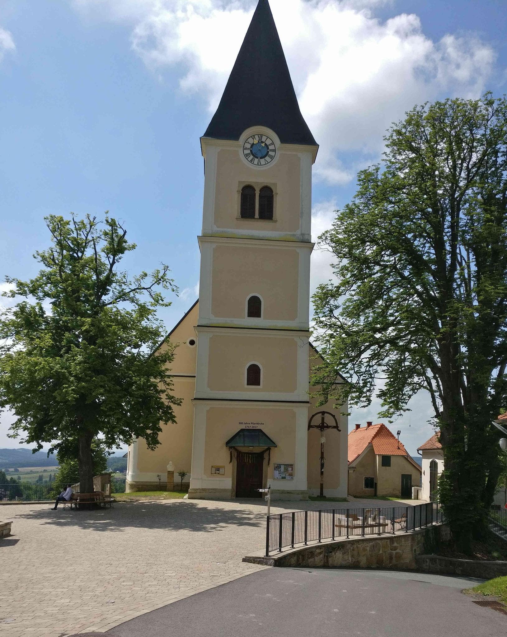 Kirche in St. Anna am Aigen