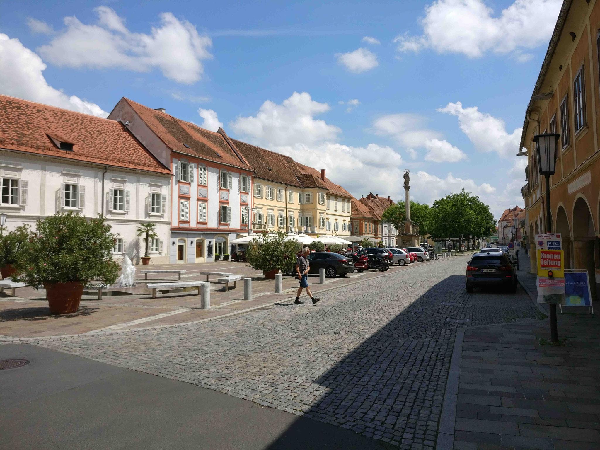 Hauptplatz von Bad Radkersburg