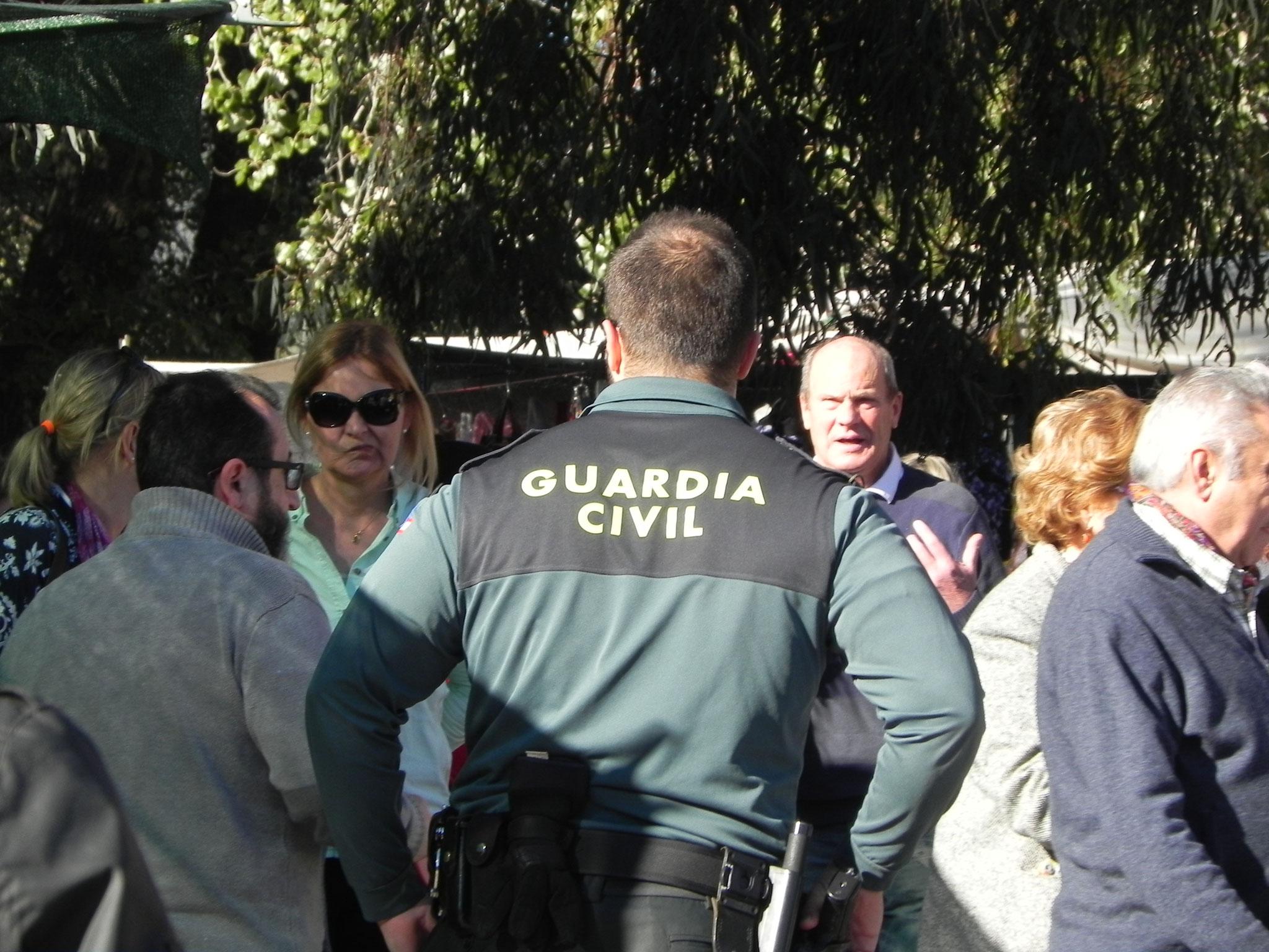 Die Guardia Civil passt auf