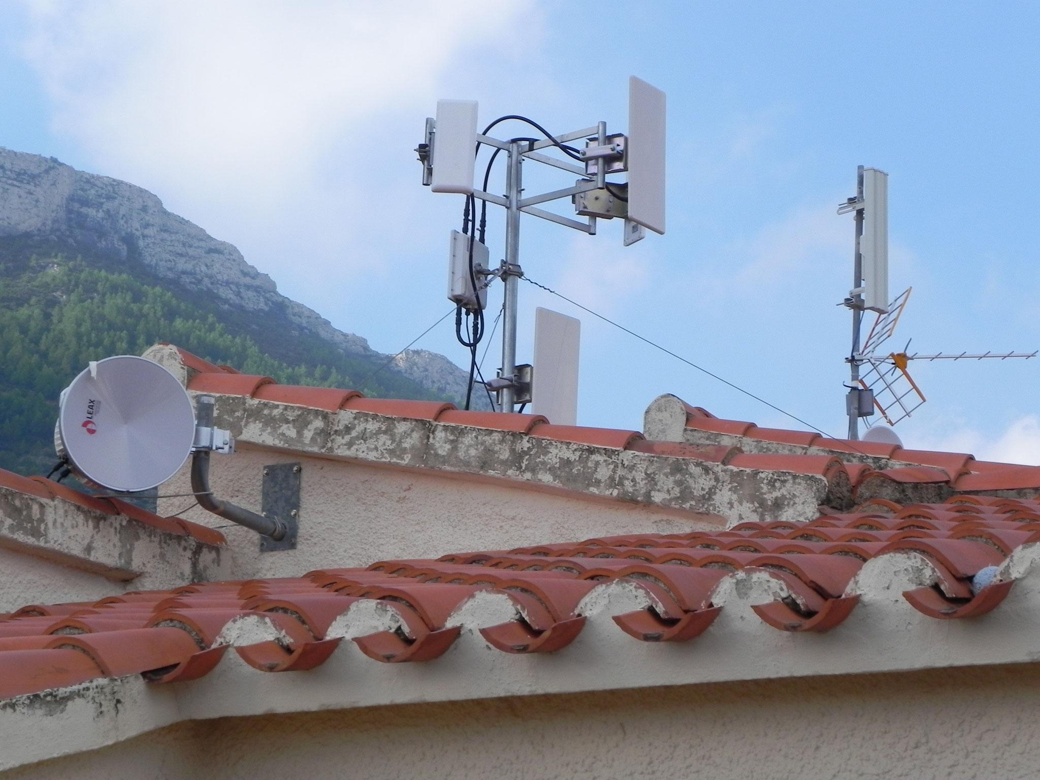 Unsere Mega Internet Antennen Park - Now the aliens respect us