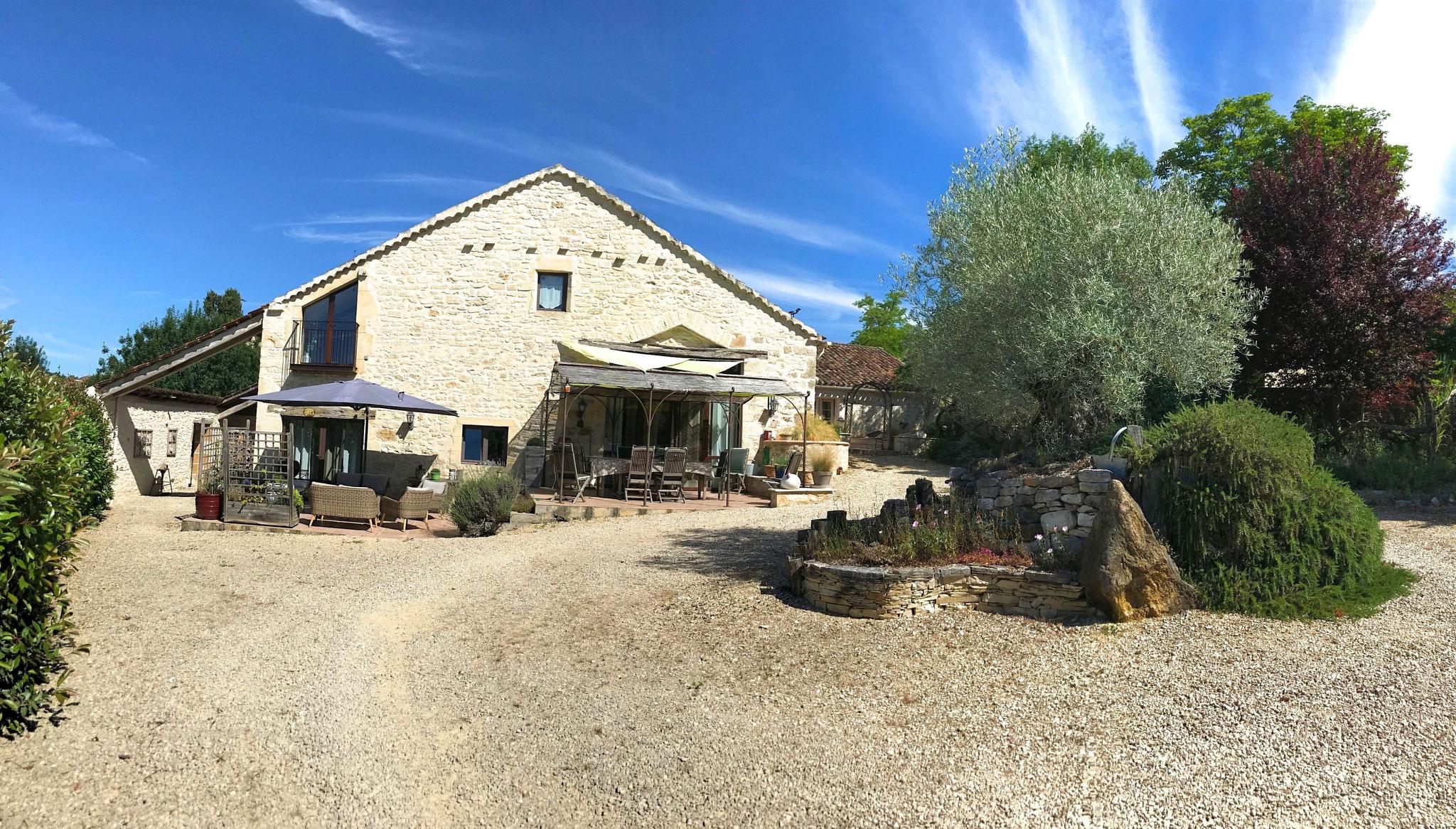 Le Domaine Côté Granges, façade sud