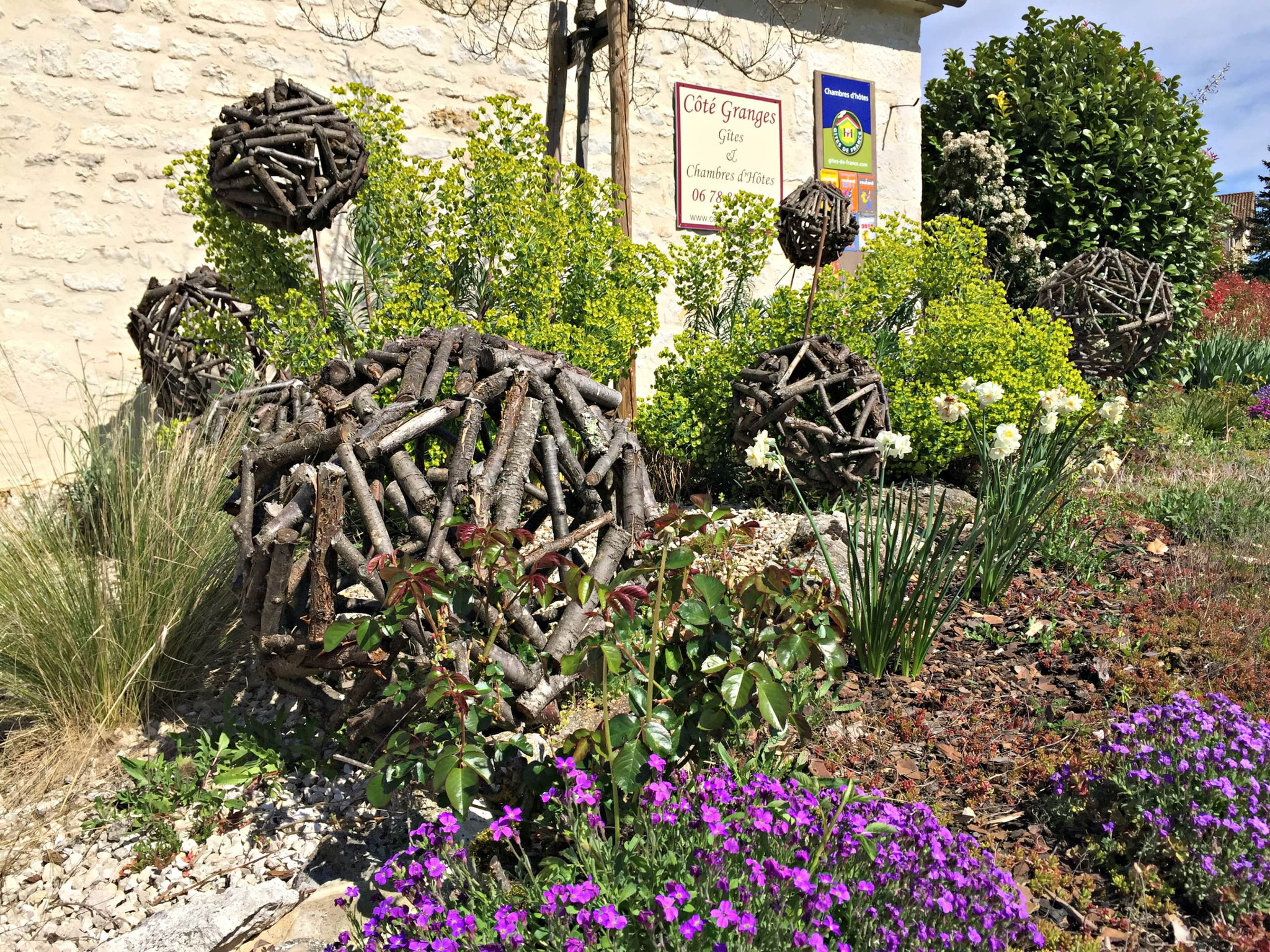 Un autre petit jardin paysagé