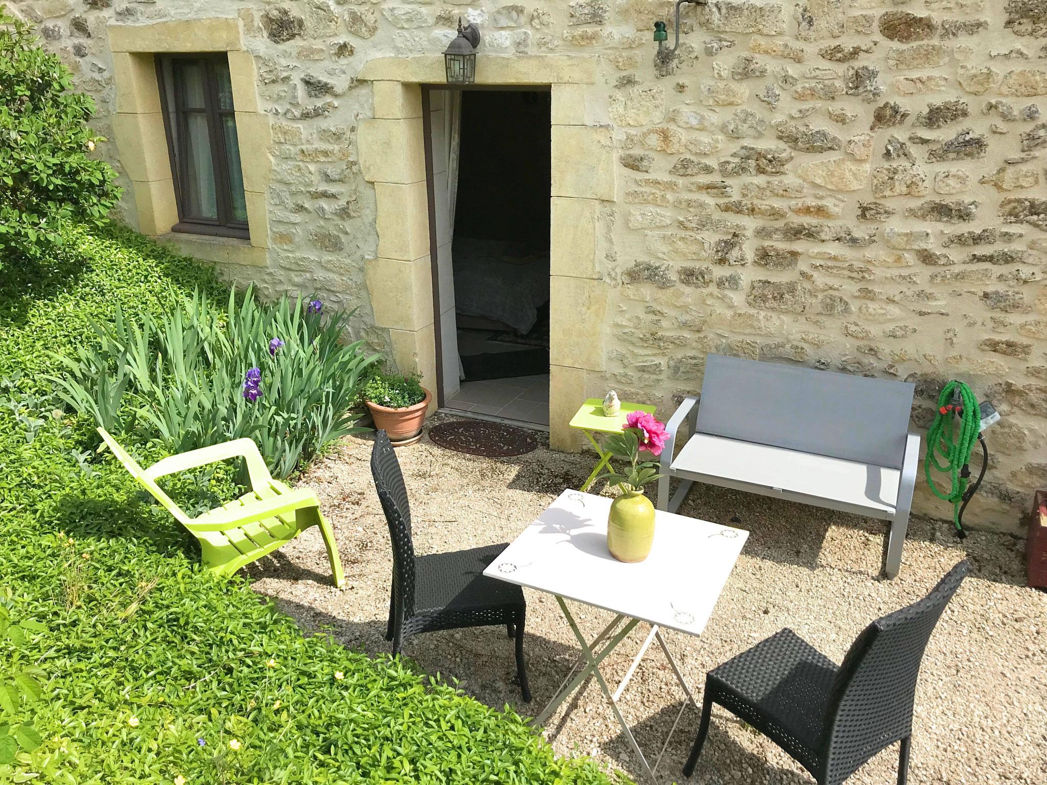 Terrasse privative de Fleur de Vigne