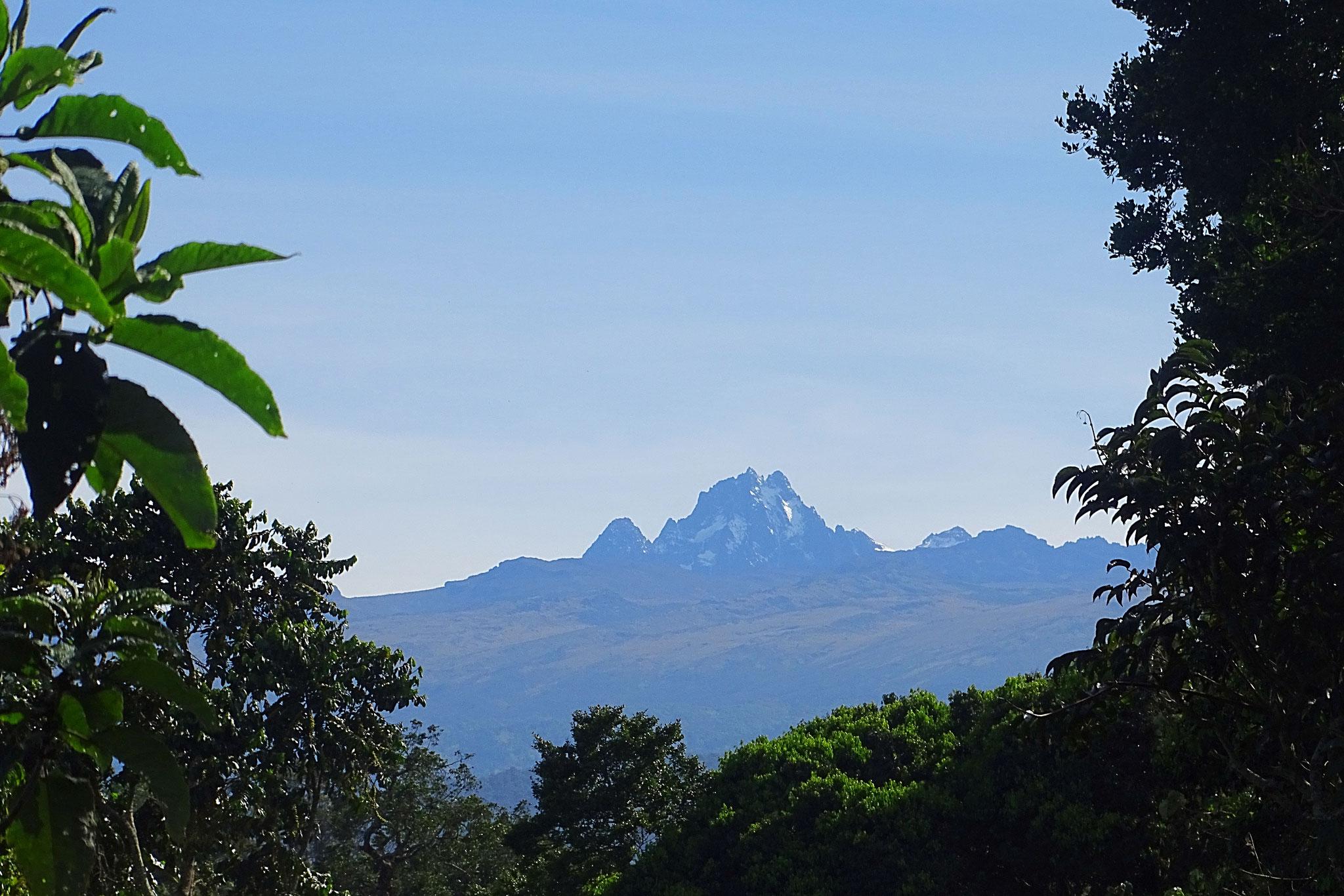 Gipfel des Mount Kenya