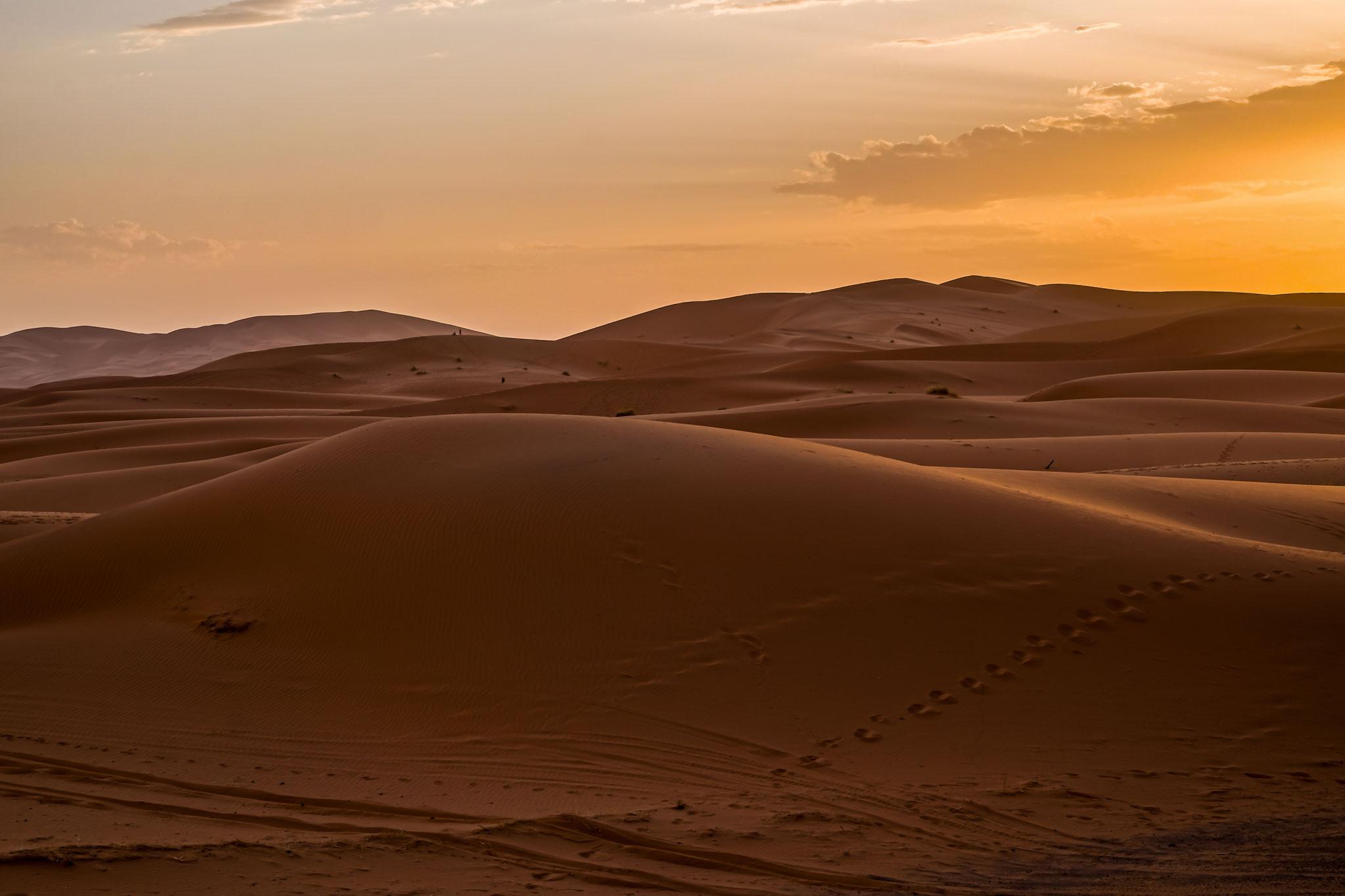 Sonnenaufgang bei Erg-Chebbi
