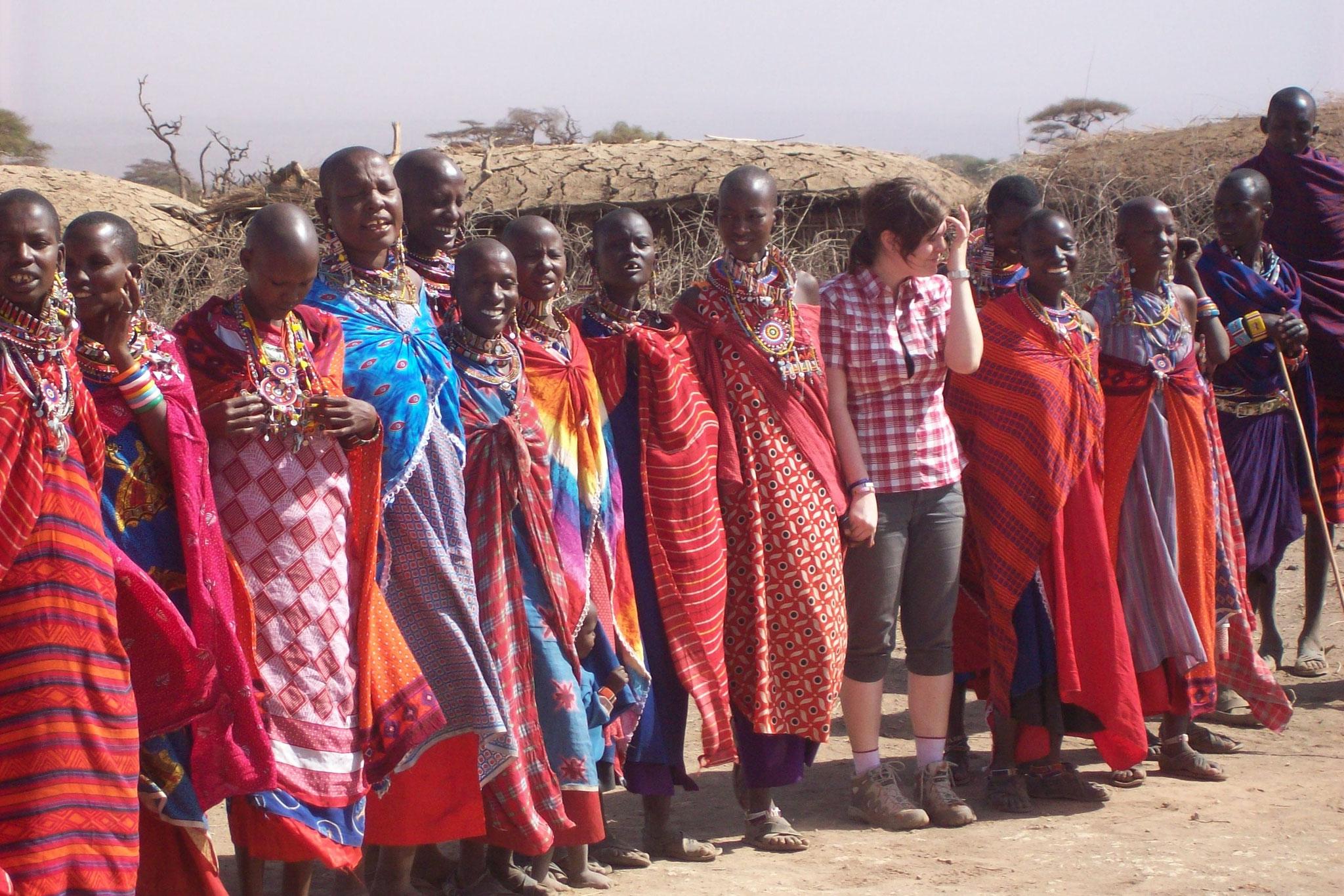 Masai kennenlernen in Tansania