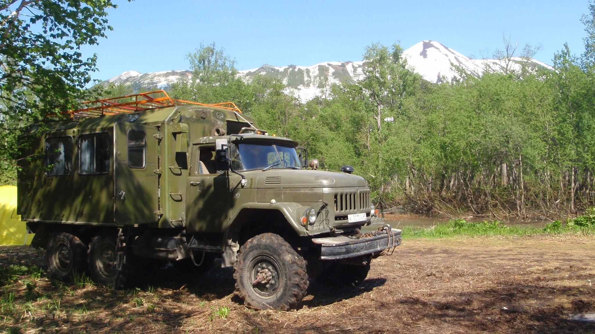 Ural 6WD passenger off-road vehicle