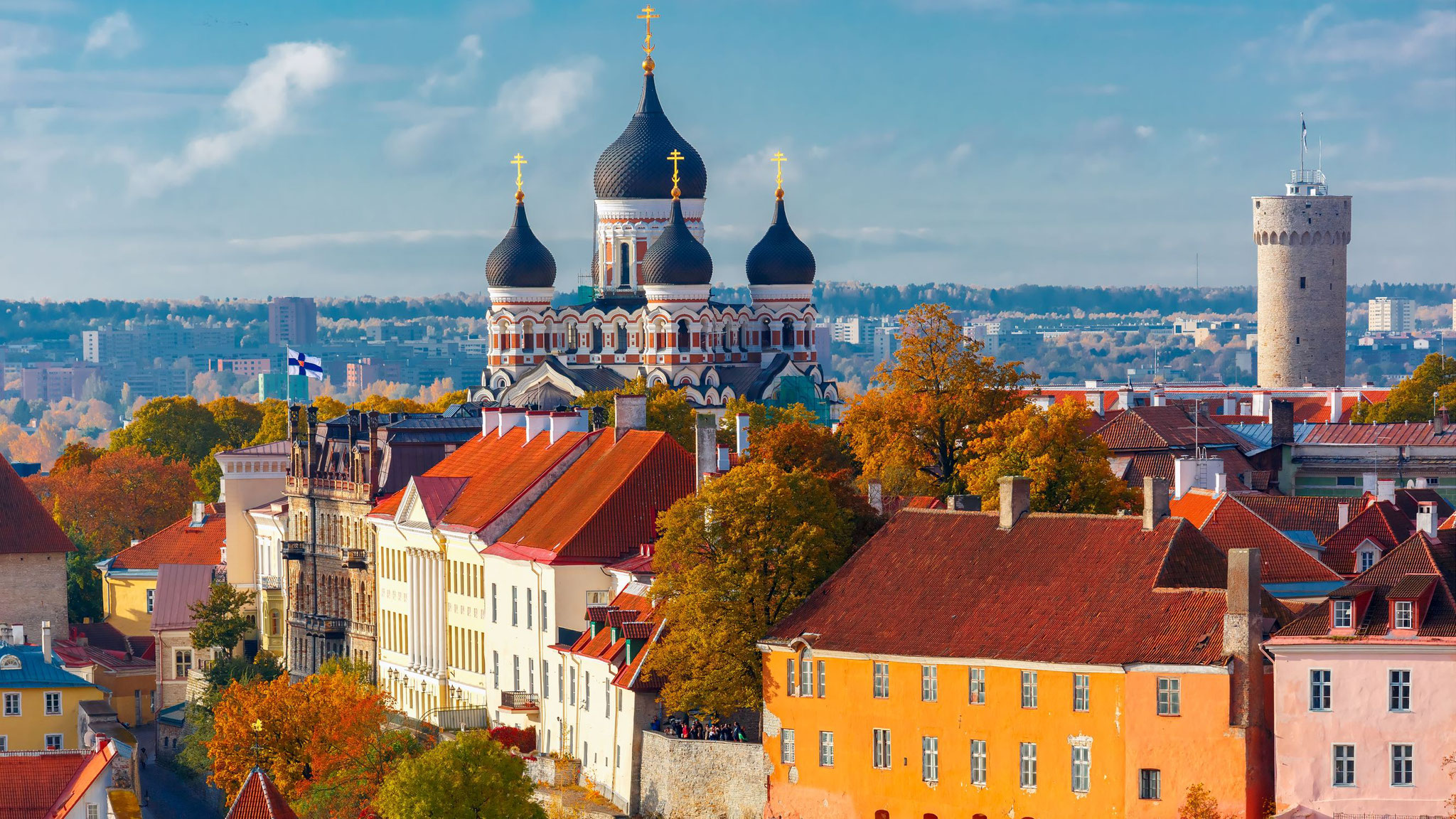 Tallinn, the Alexander Nevsky Cathedral