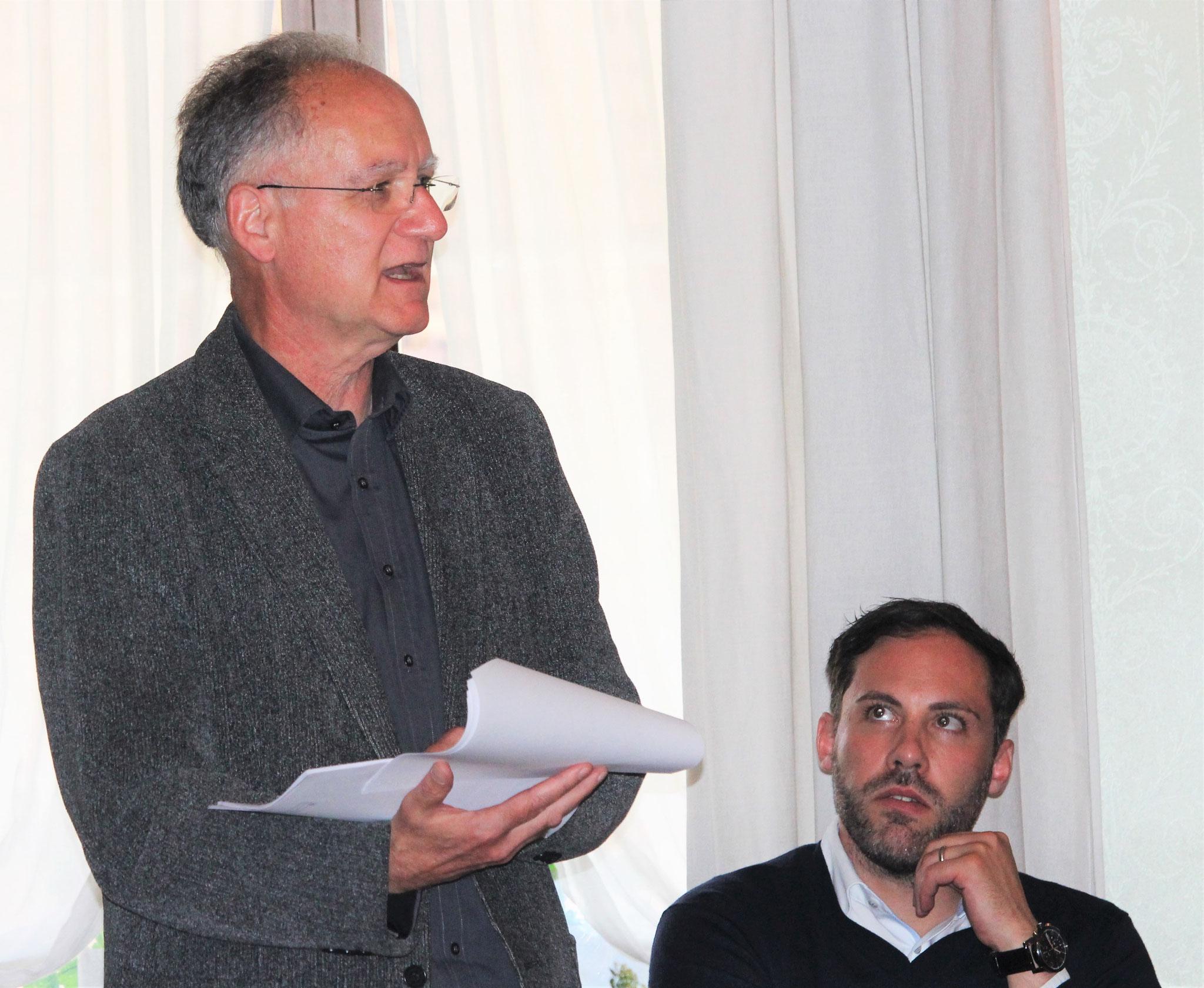 Finanzchef Franz Wisler (Wynau) stellt die Jahresrechnung 2015 vor.
