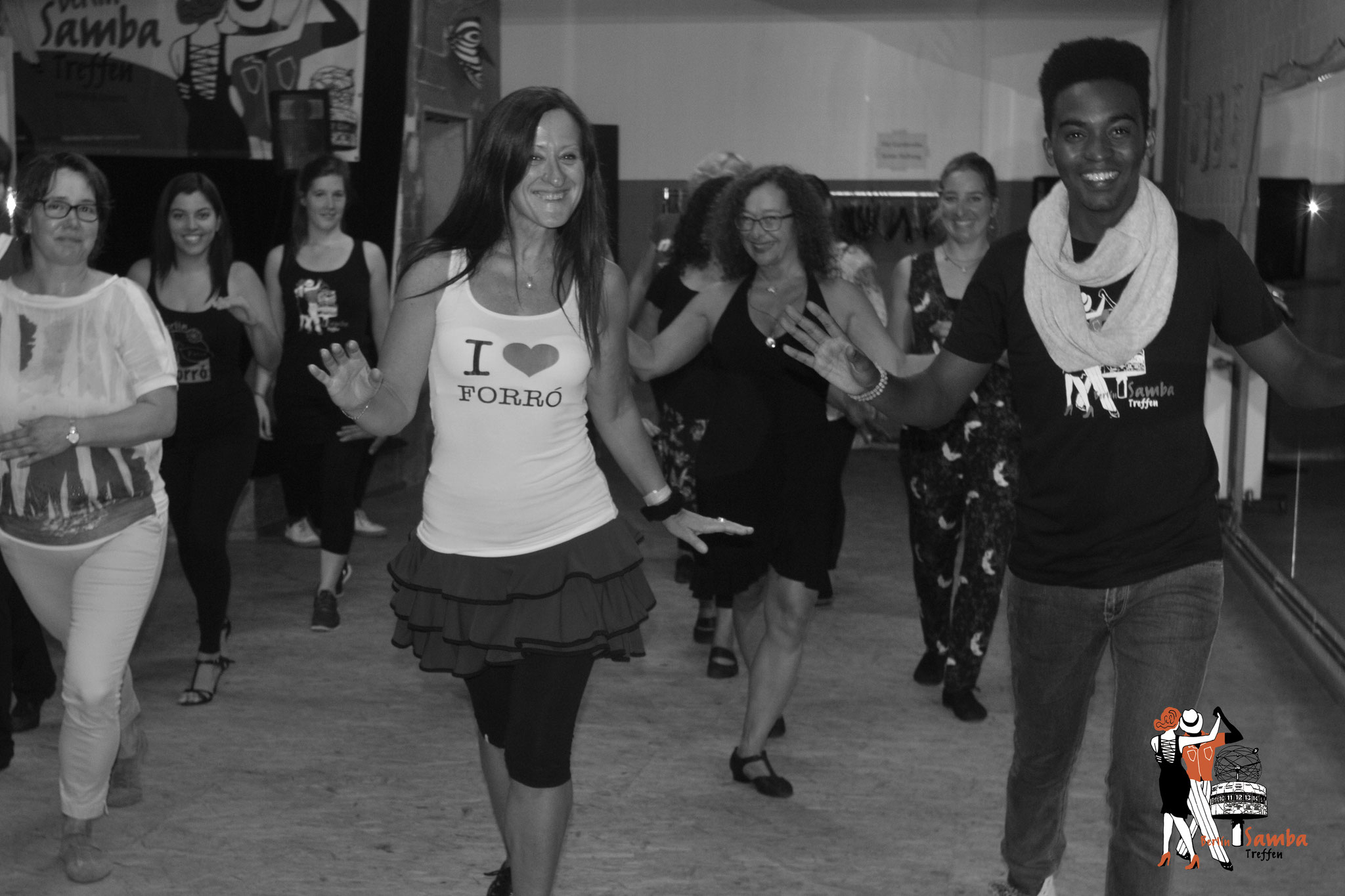 Samba Treffen Berlin 2016 - Gabriel Silva Workshop