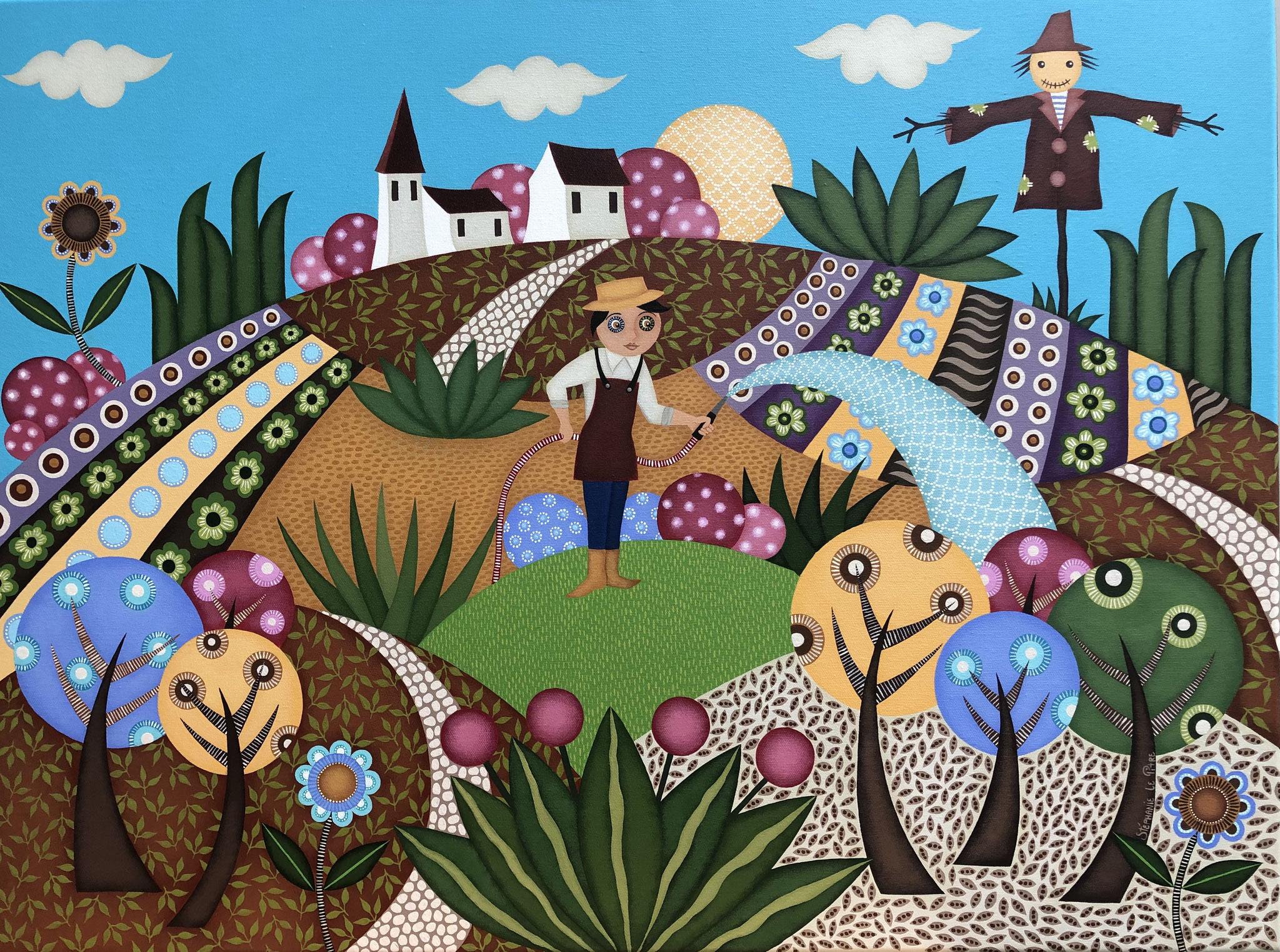 Le Jardinier (60 x 80)