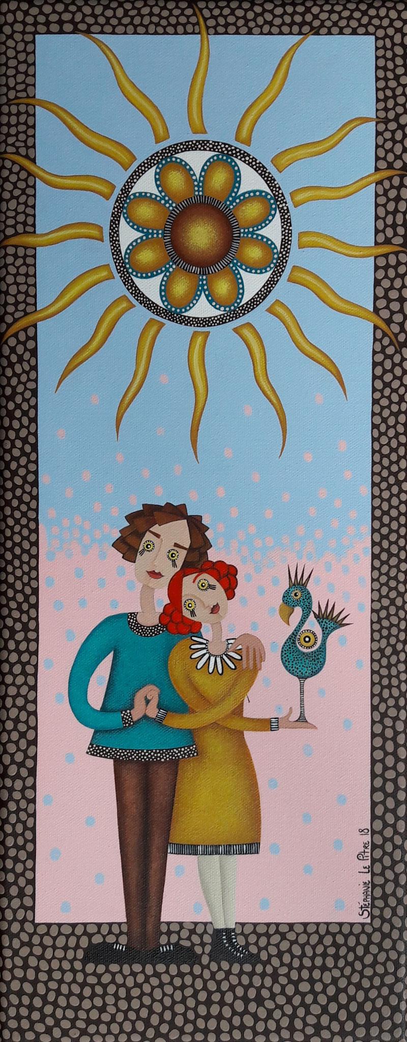 Le Soleil (20 x 50)