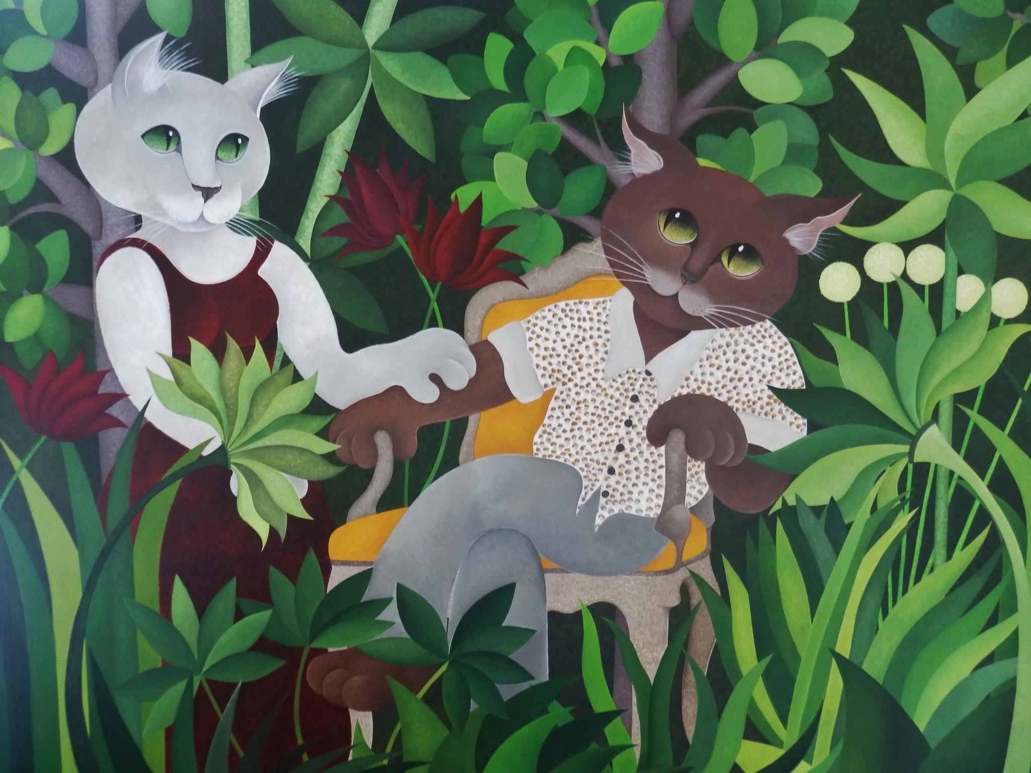 Les Mariés dans la Jungle (120x150)