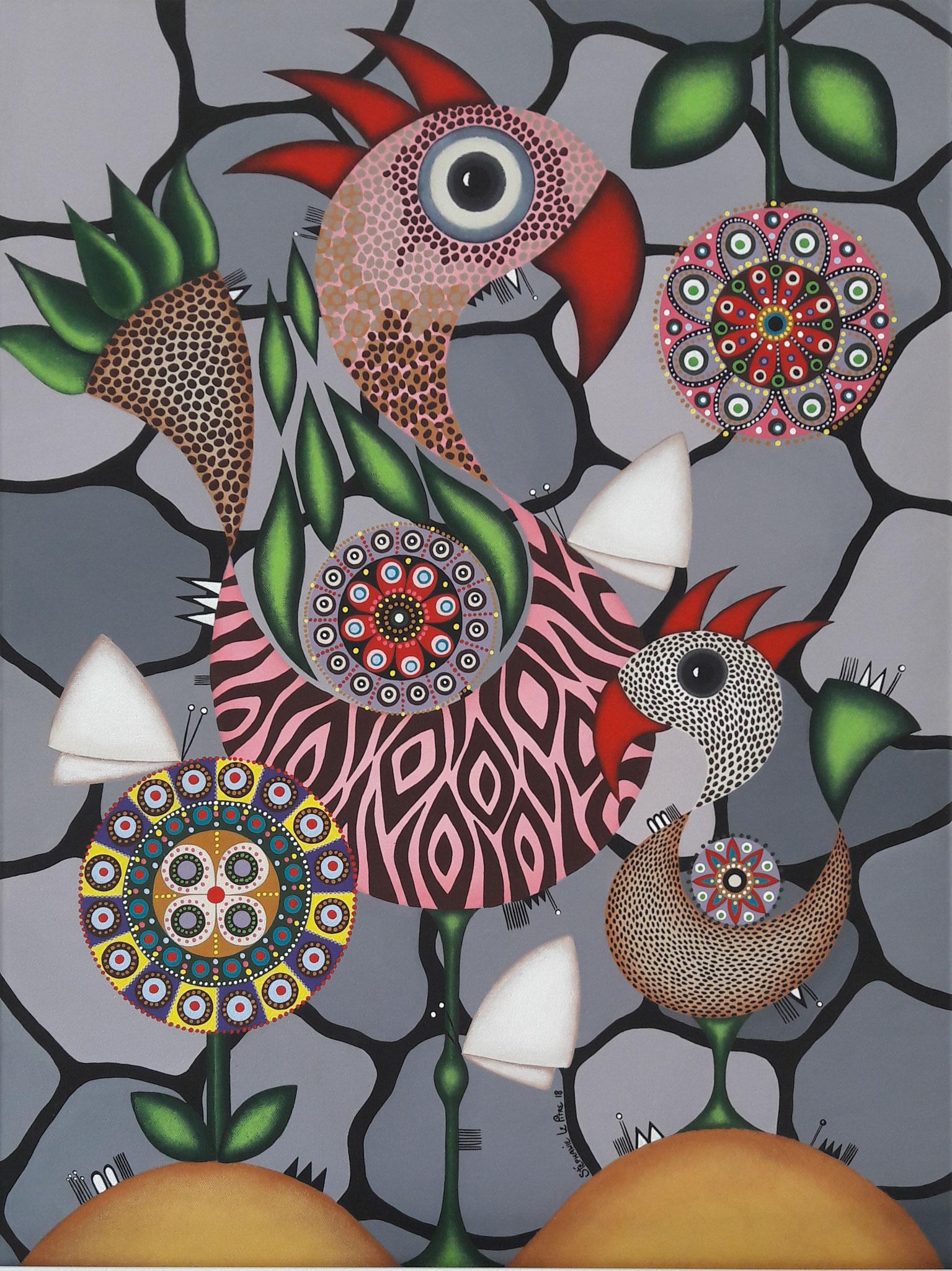 Petit Oiseau deviendra Grand (60 x 80)