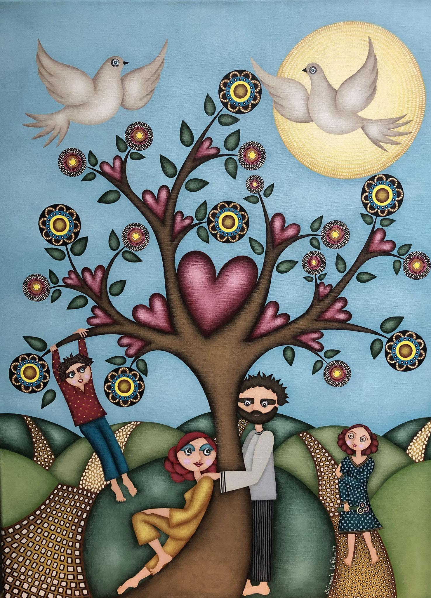 L'Arbre de Vie (60 x 80)