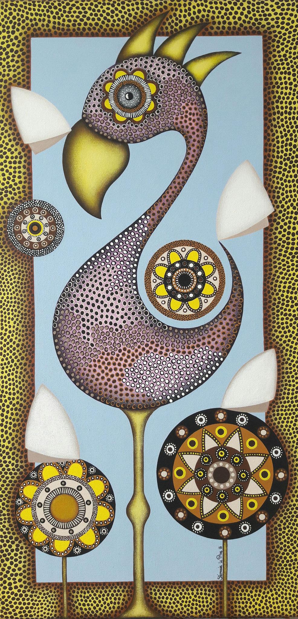 Le Flamant (40 x 80)