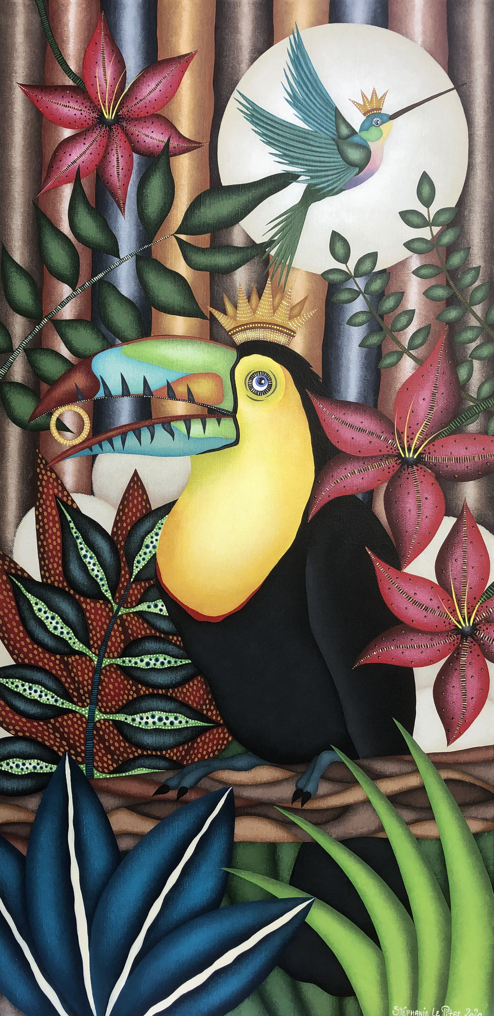 Le Malicieux (40 x 80)