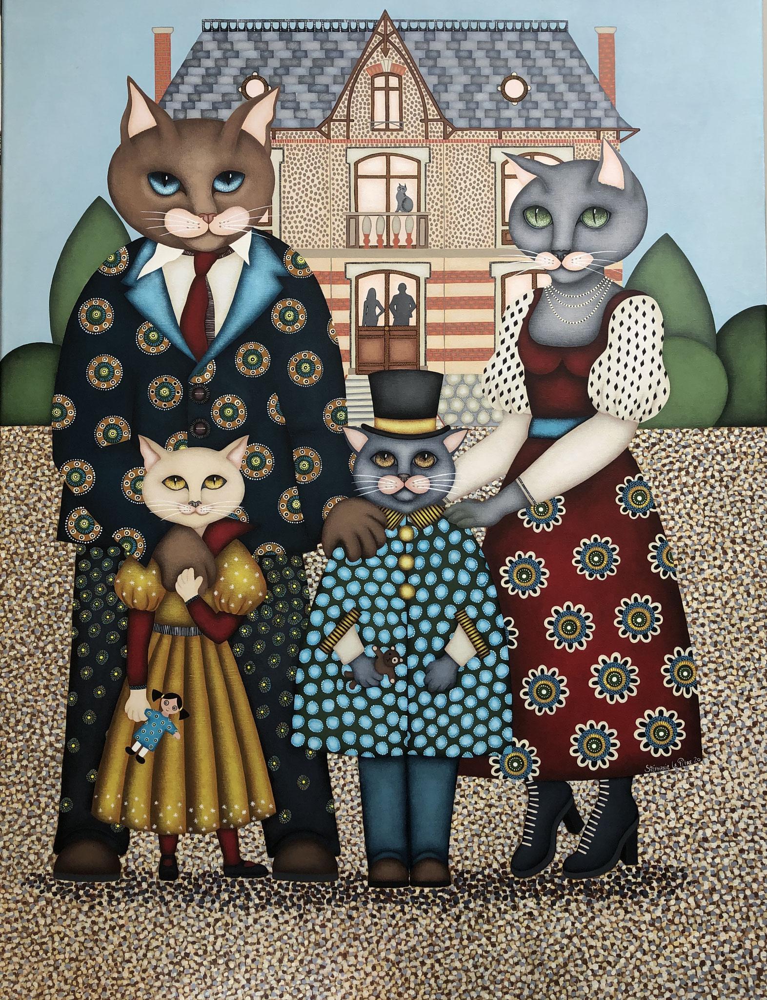 Portrait de Famille (100 x 120)