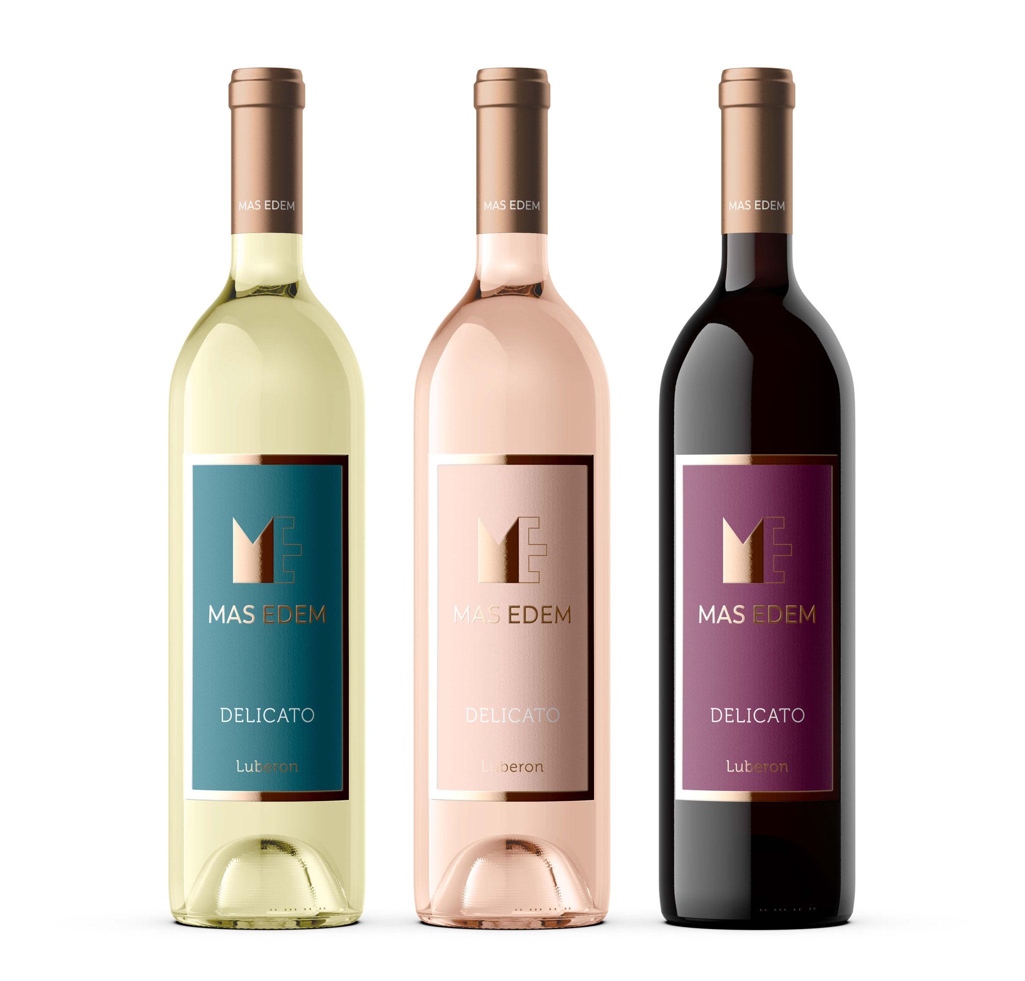 Gamme Delicato, des vins frais pour l'été