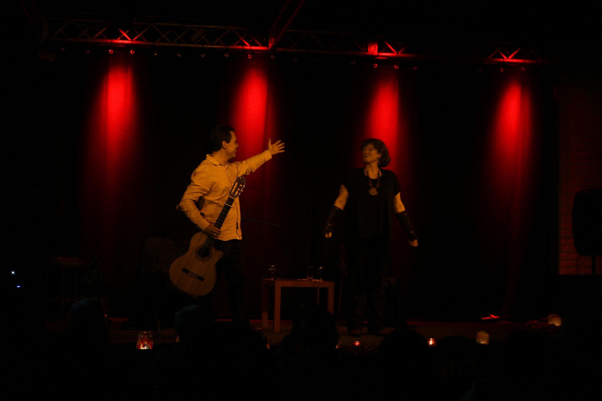 Märchen und Musik im K14, mit B. Gomez 2018