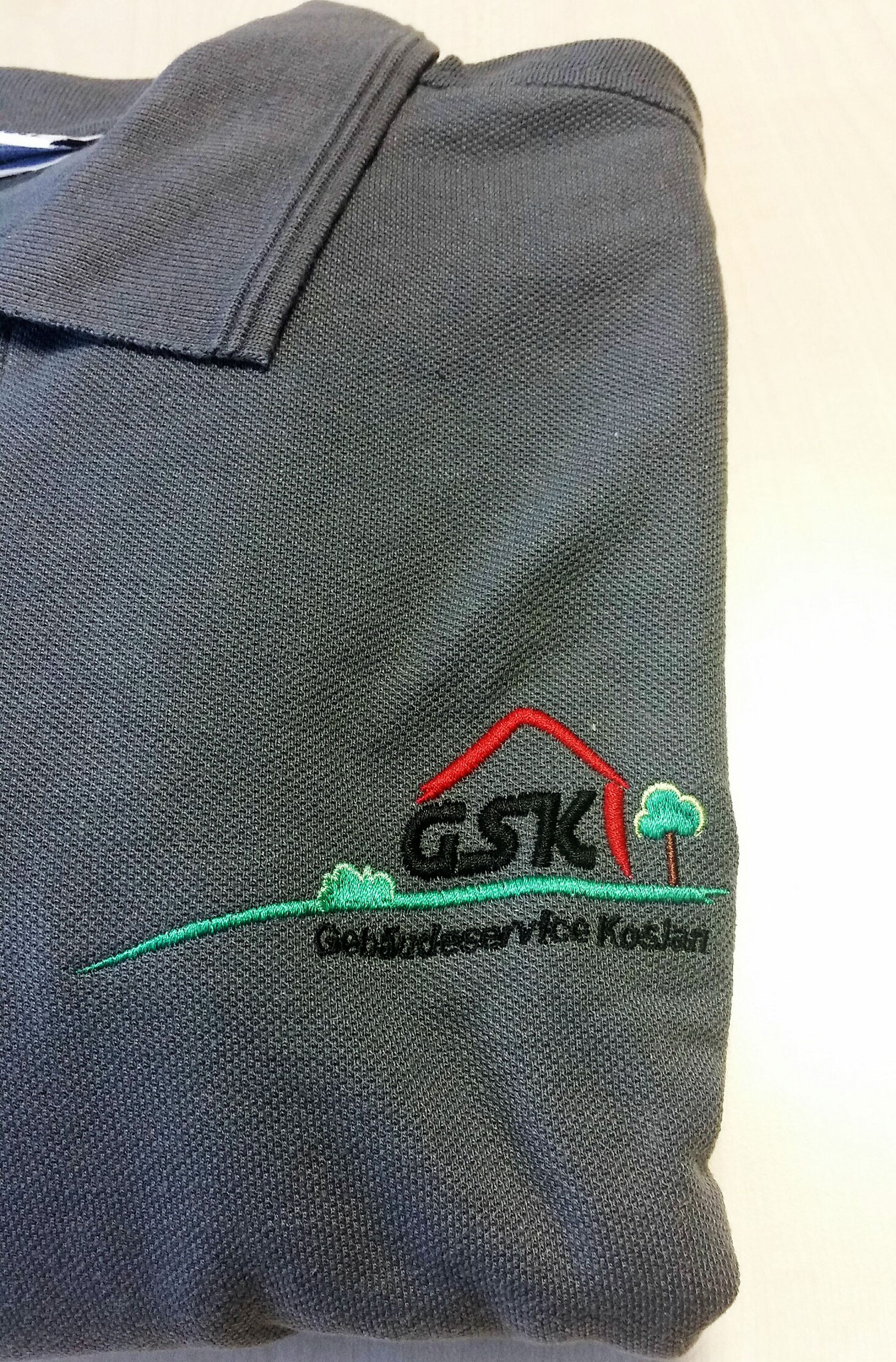 Poloshirt Bruststick 4-farbig