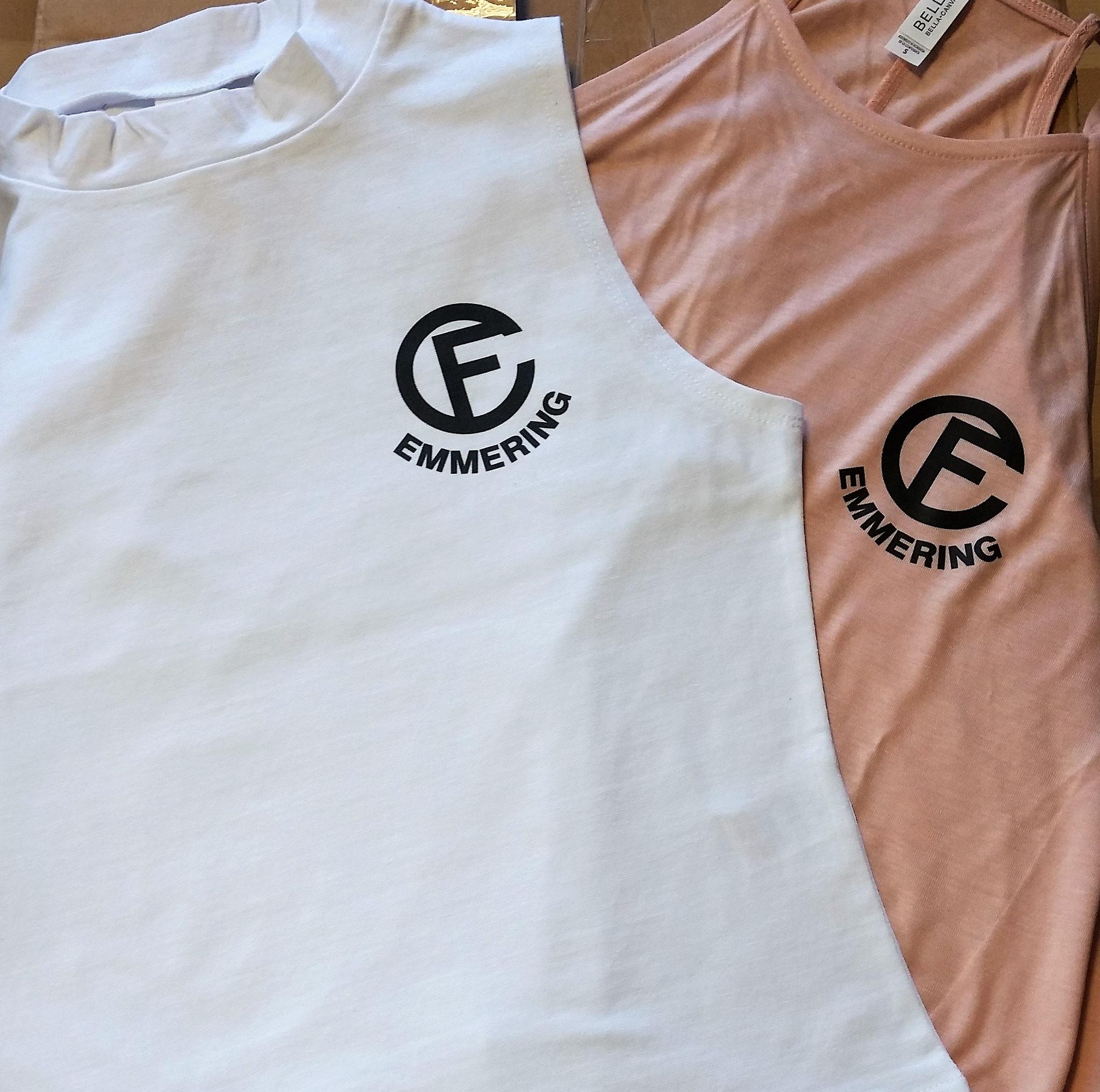 T-Shirt Transferdruck 1-farbig