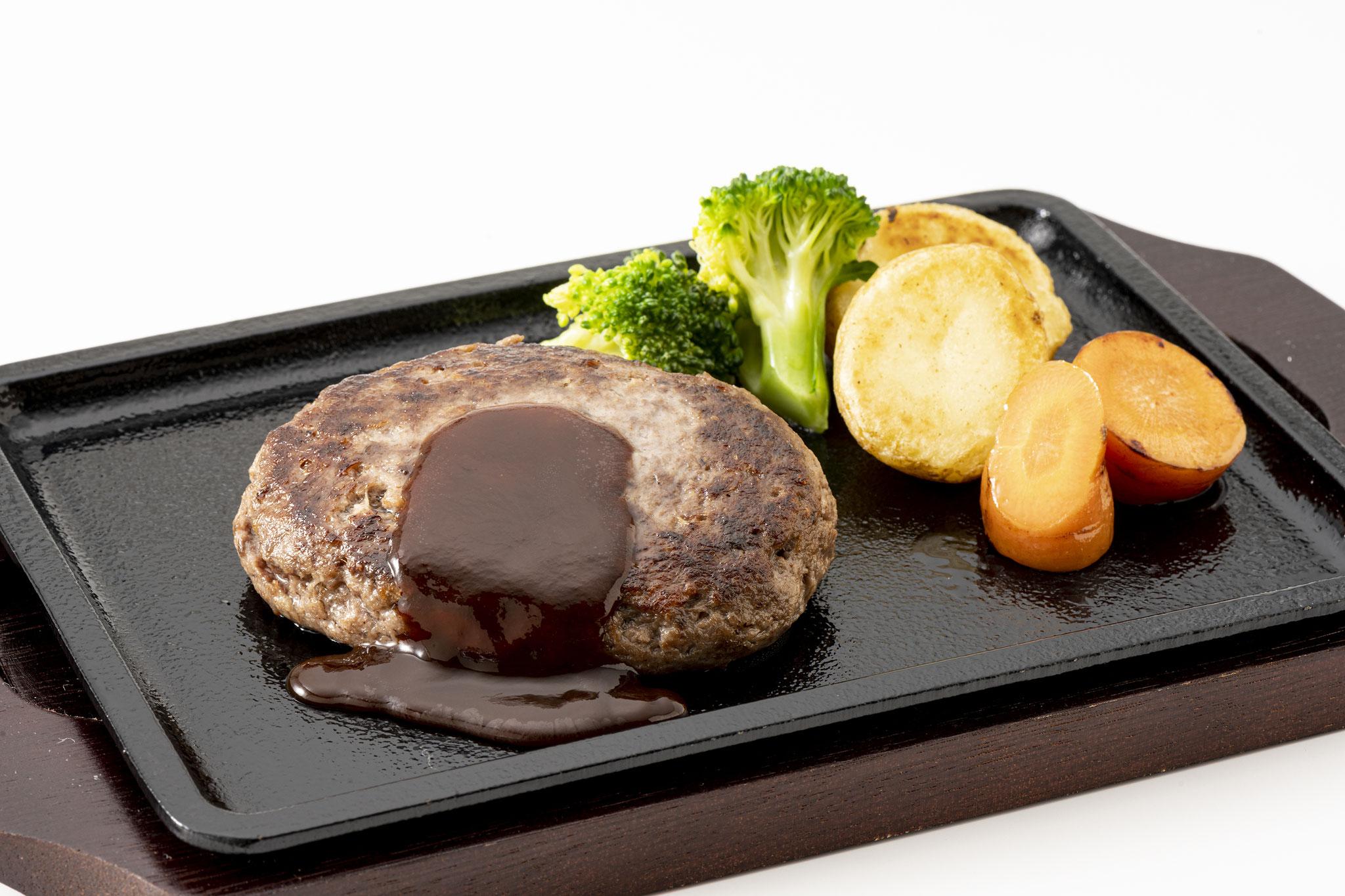 北海道登別の鹿肉ハンバーグ<(有)肉のあさひ>