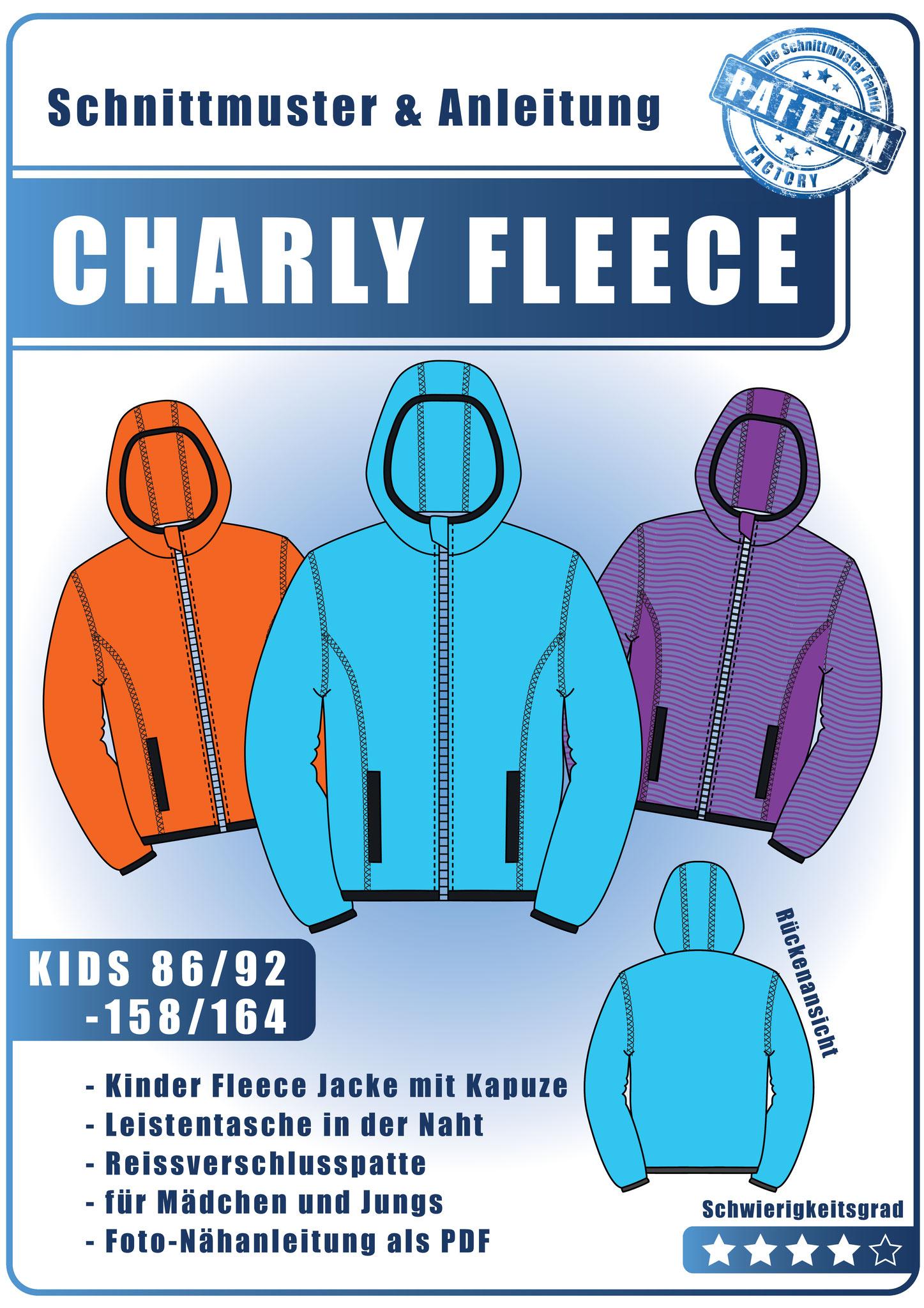 CHARLY Fleece Jacke