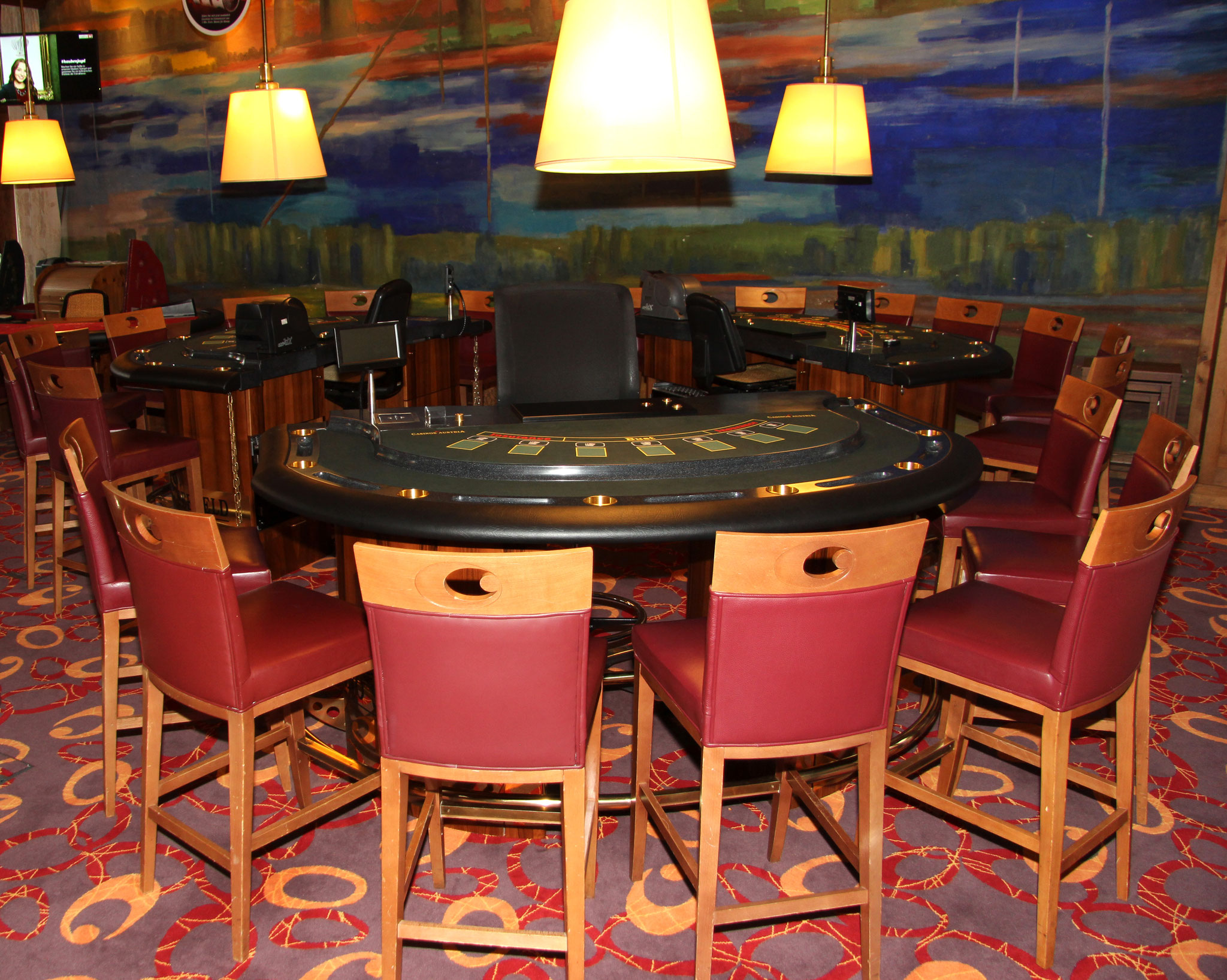 Casino Seefeld, Axminster Teppich