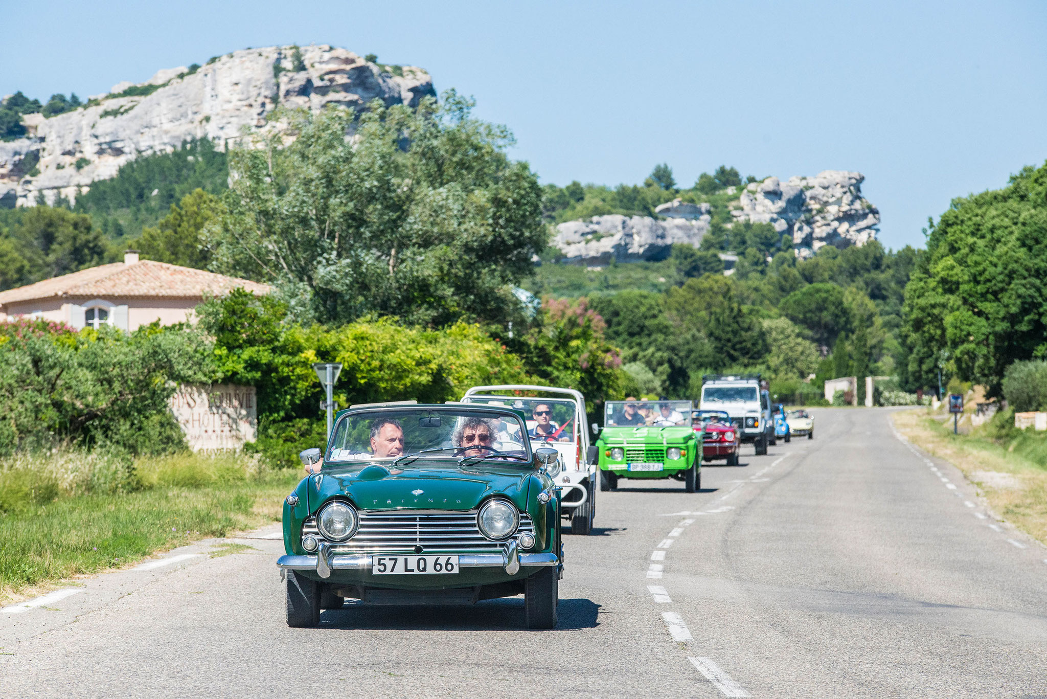 Sur place : excursions en cabriolet