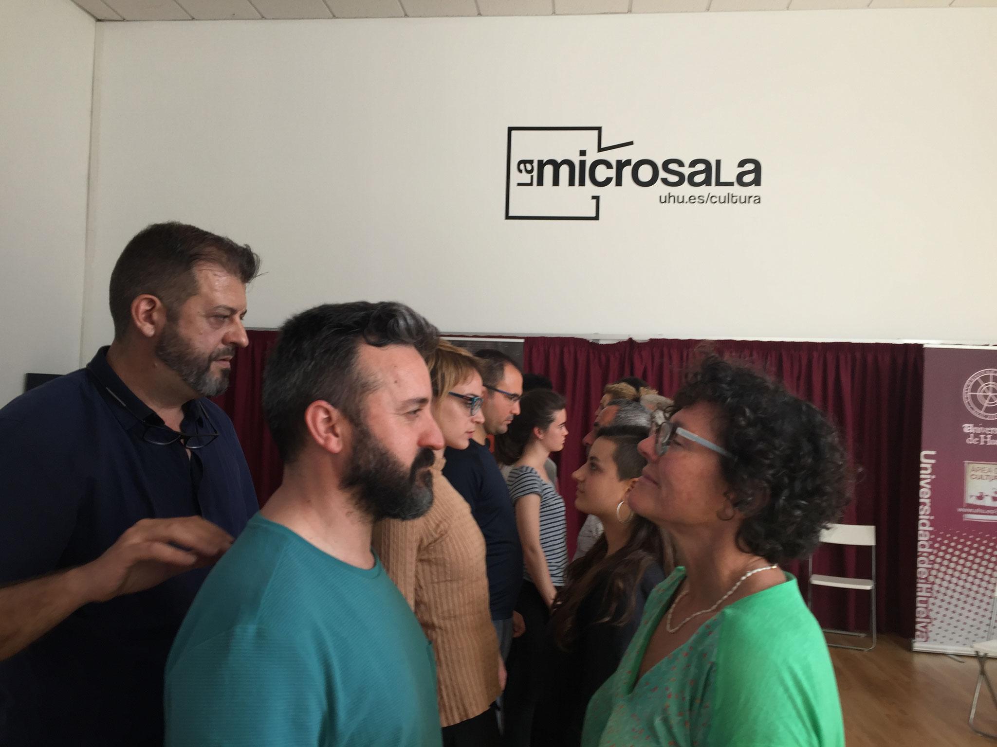 """""""INTERPRETACIÓN"""" con JULIO FRAGA. MAYO 2018"""