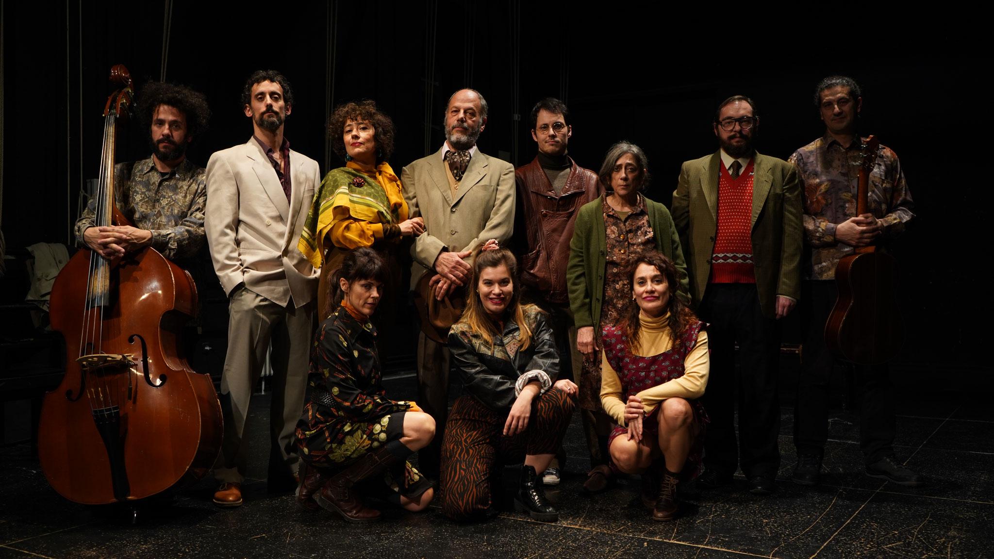 """""""Los Árboles. Un Chejov Andaluz"""". Teatro Resistente. 2020"""