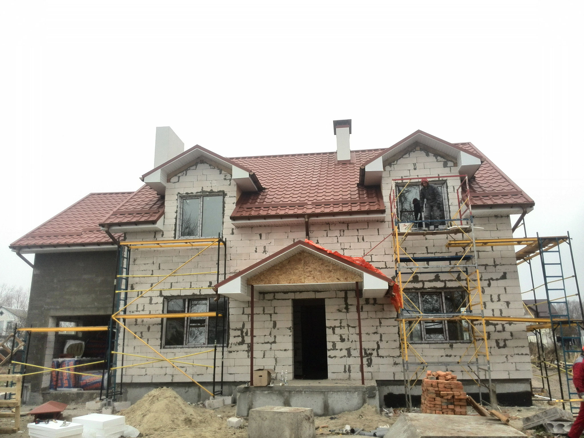 Будуємо індивідуальні житлові будинки (котеджі) під ключ