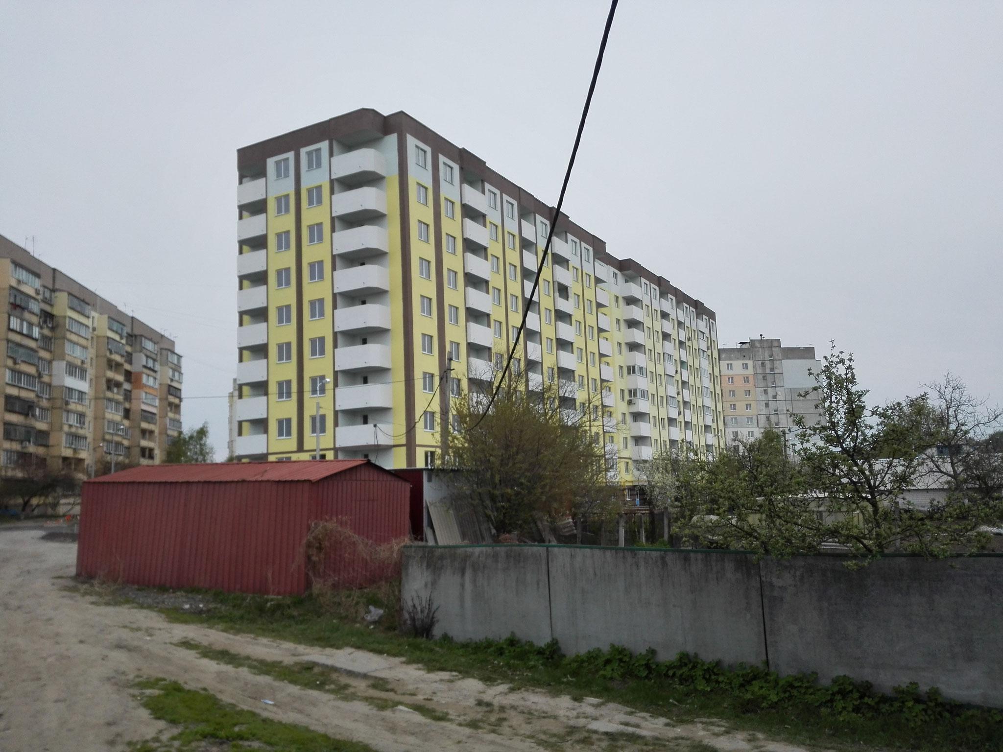 """Житловий комплекс """"Банківський"""" з офісними приміщеннями, в м. Бориспіль вул. Банківська, 32 (нове будівництво)"""