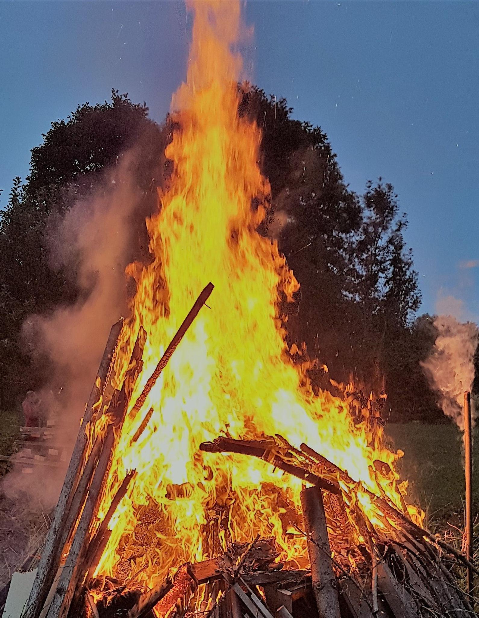 Ein Feuer entfachen..