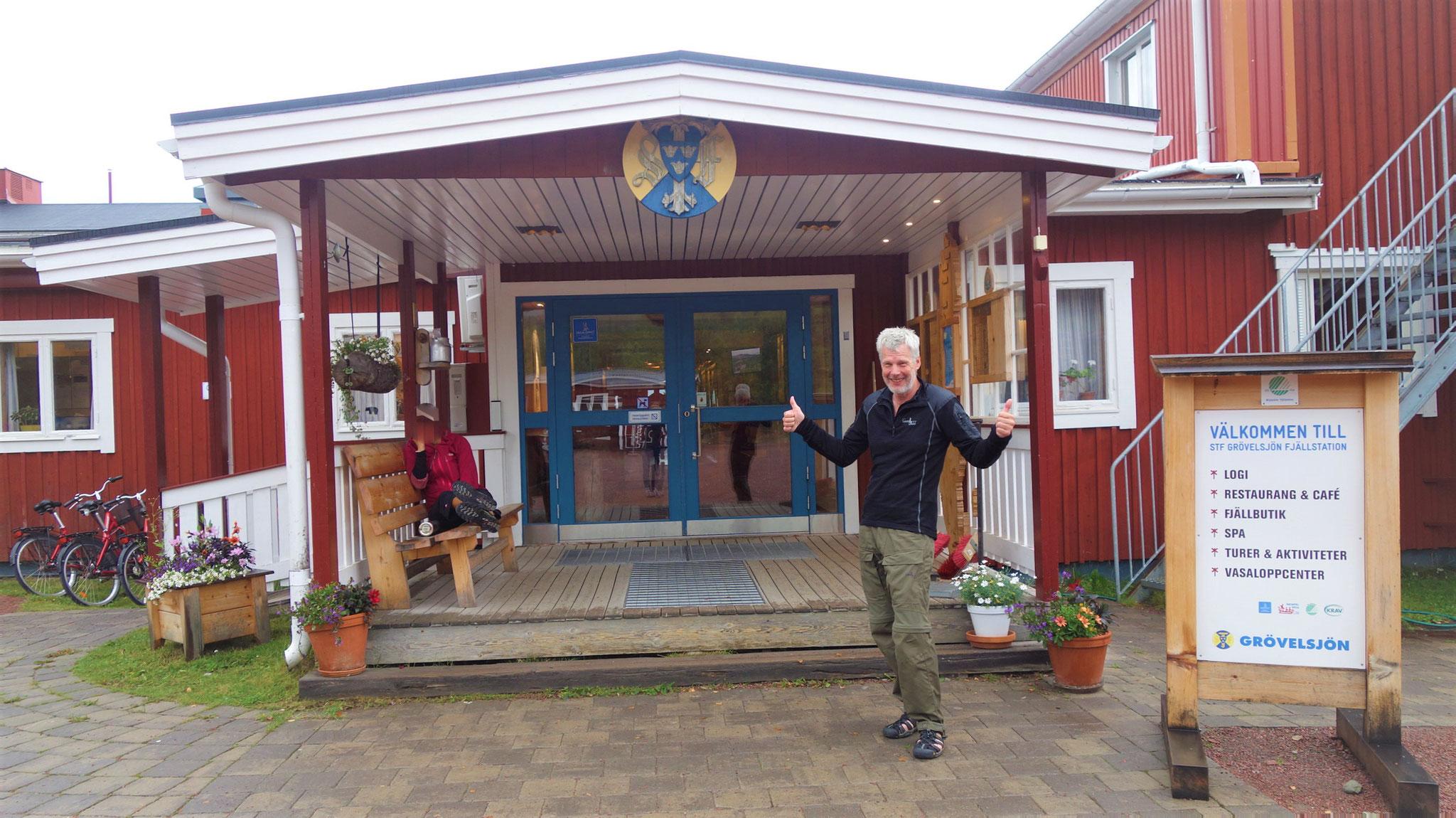 2019: in Schweden an der Grenze zu Norwegen - Grövelsjön Fjällstation