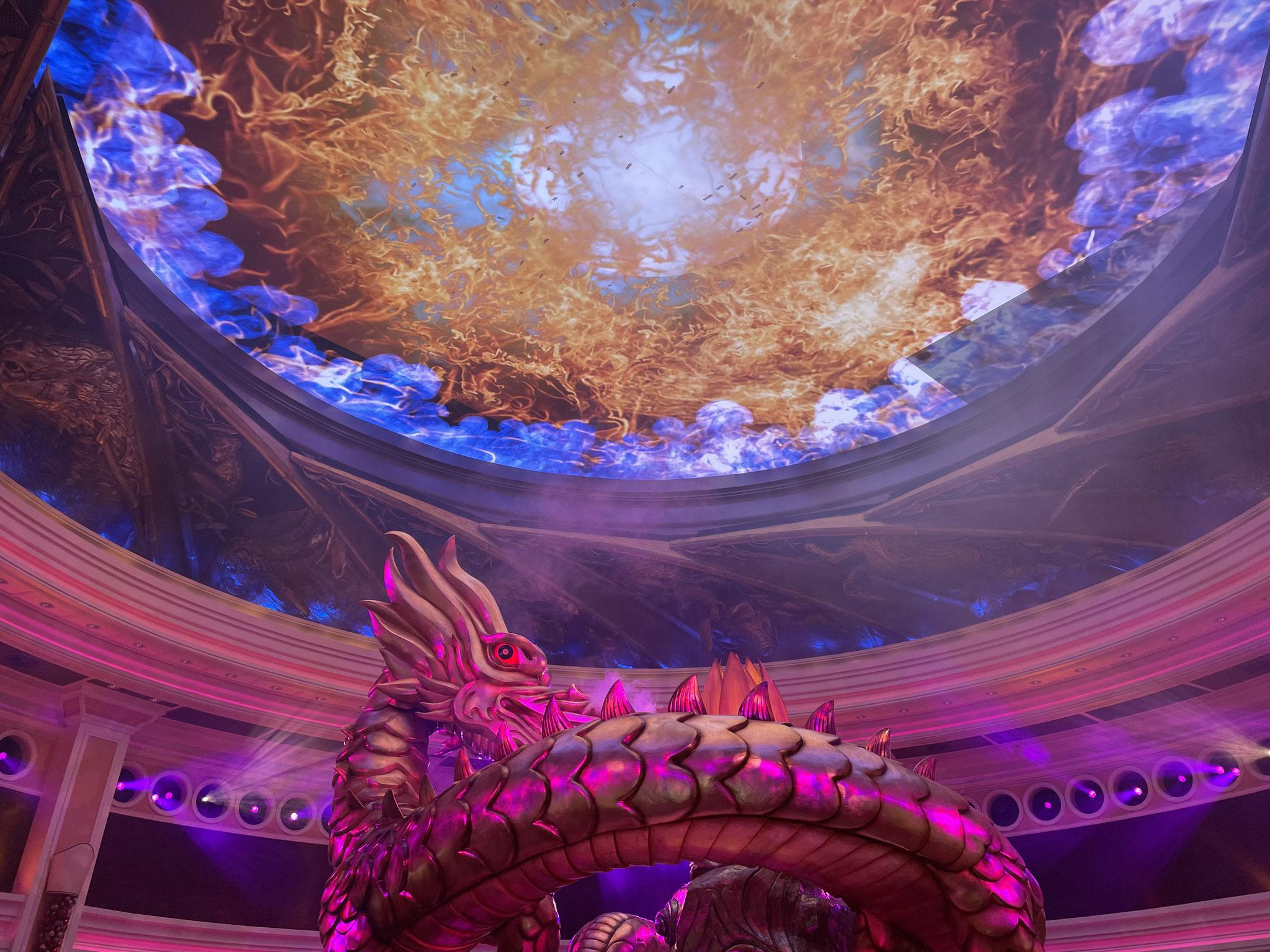 Wynn Macau - Rotunda LED Display