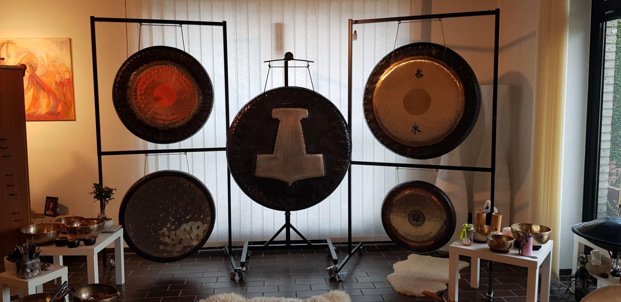 meine Gongs!