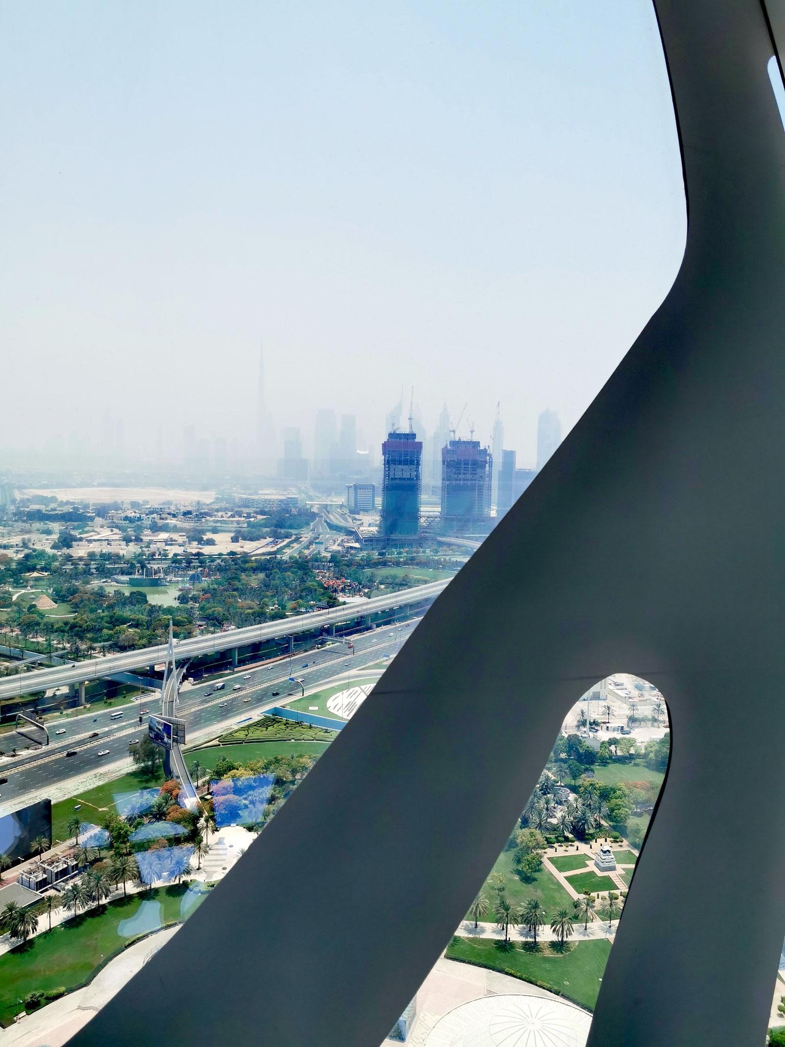 """""""Blick auf das """"neue"""" Dubai"""