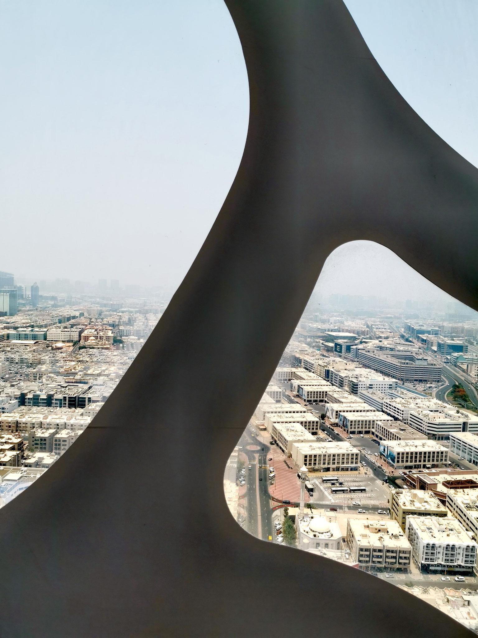 """Blick auf das """"alte"""" Dubai"""