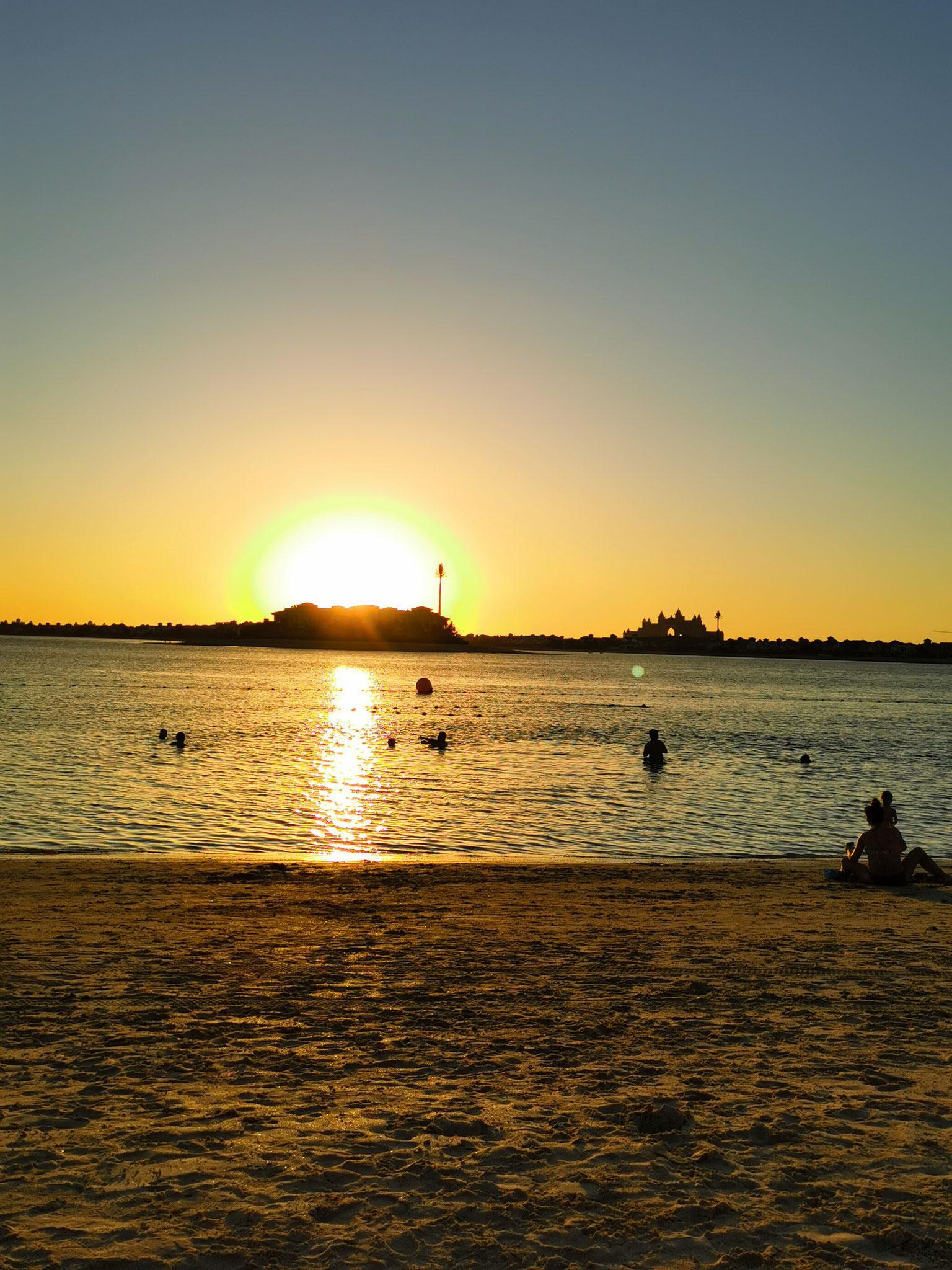 Ein traumhaft schöner Sonnenuntergang, nicht wahr?