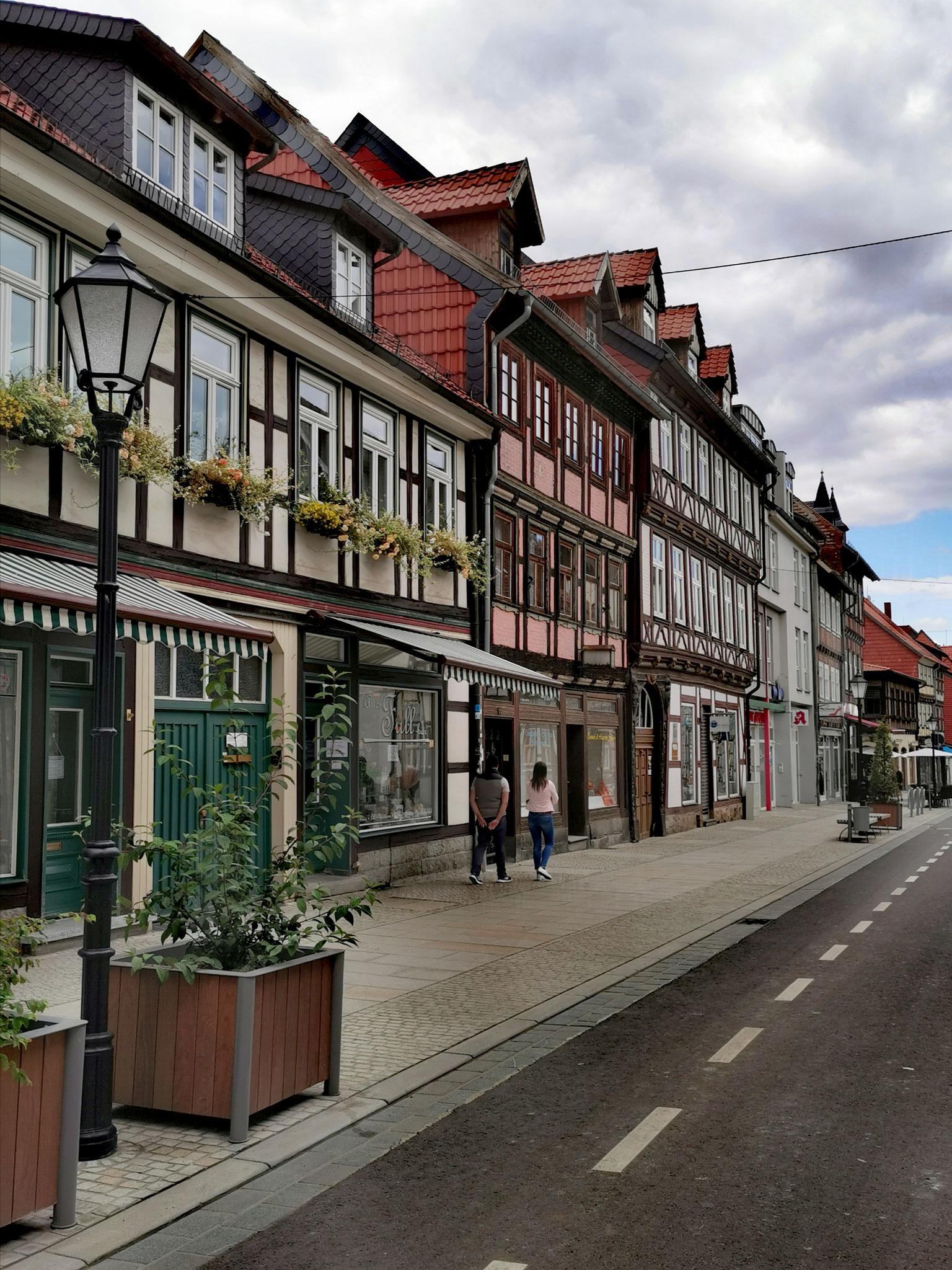 Straßenzüge in der Altstadt