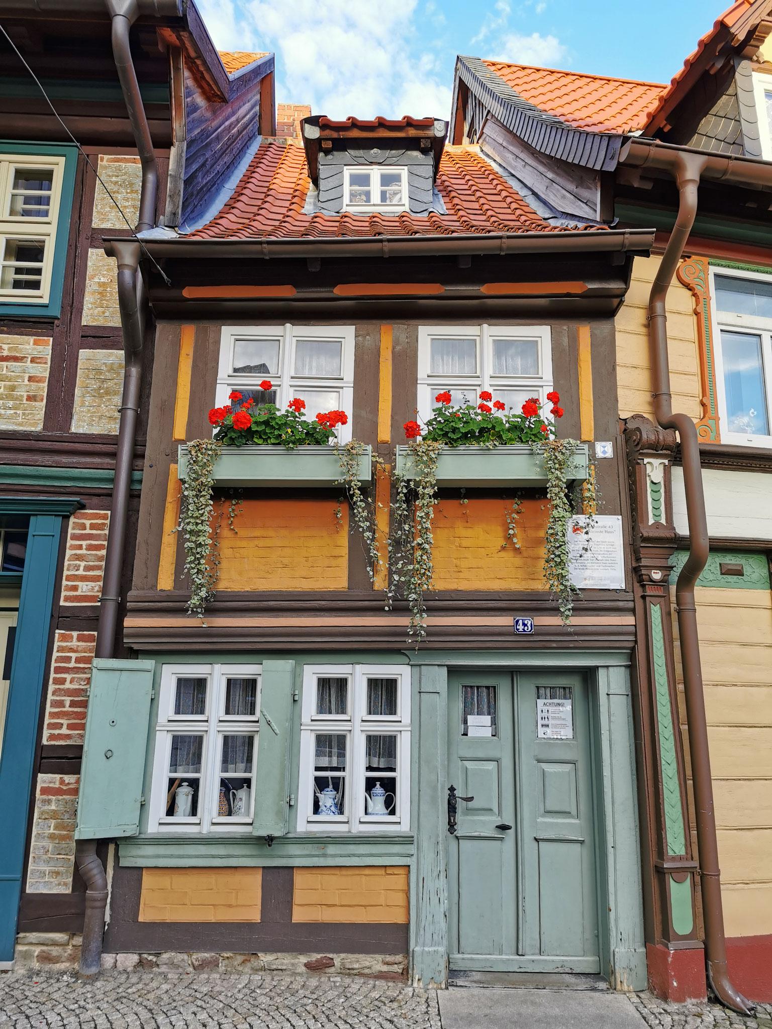 """""""Das kleinste Haus"""" war bis 1976 bewohnt"""