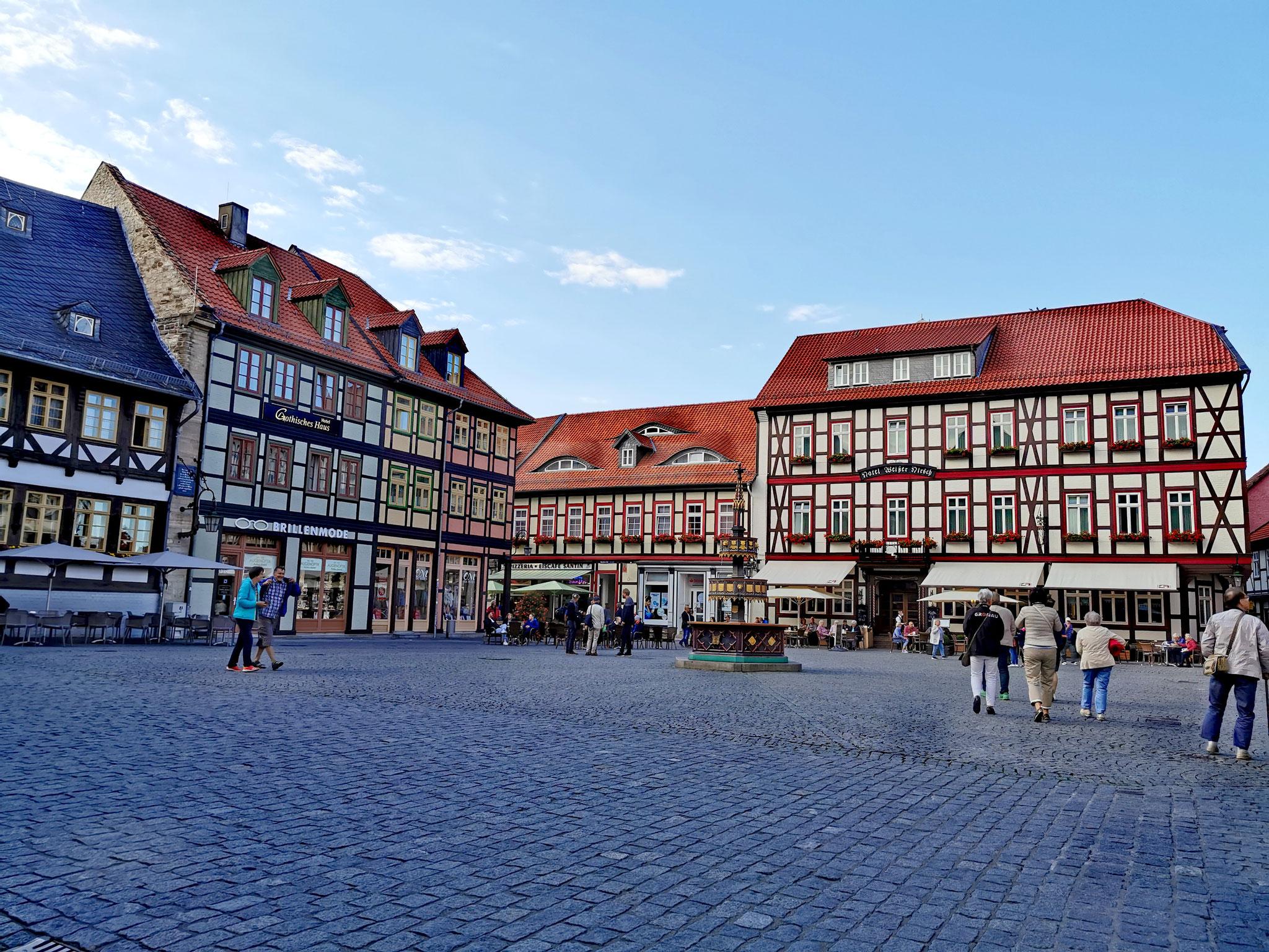 Der Marktplatz von Wernigerode