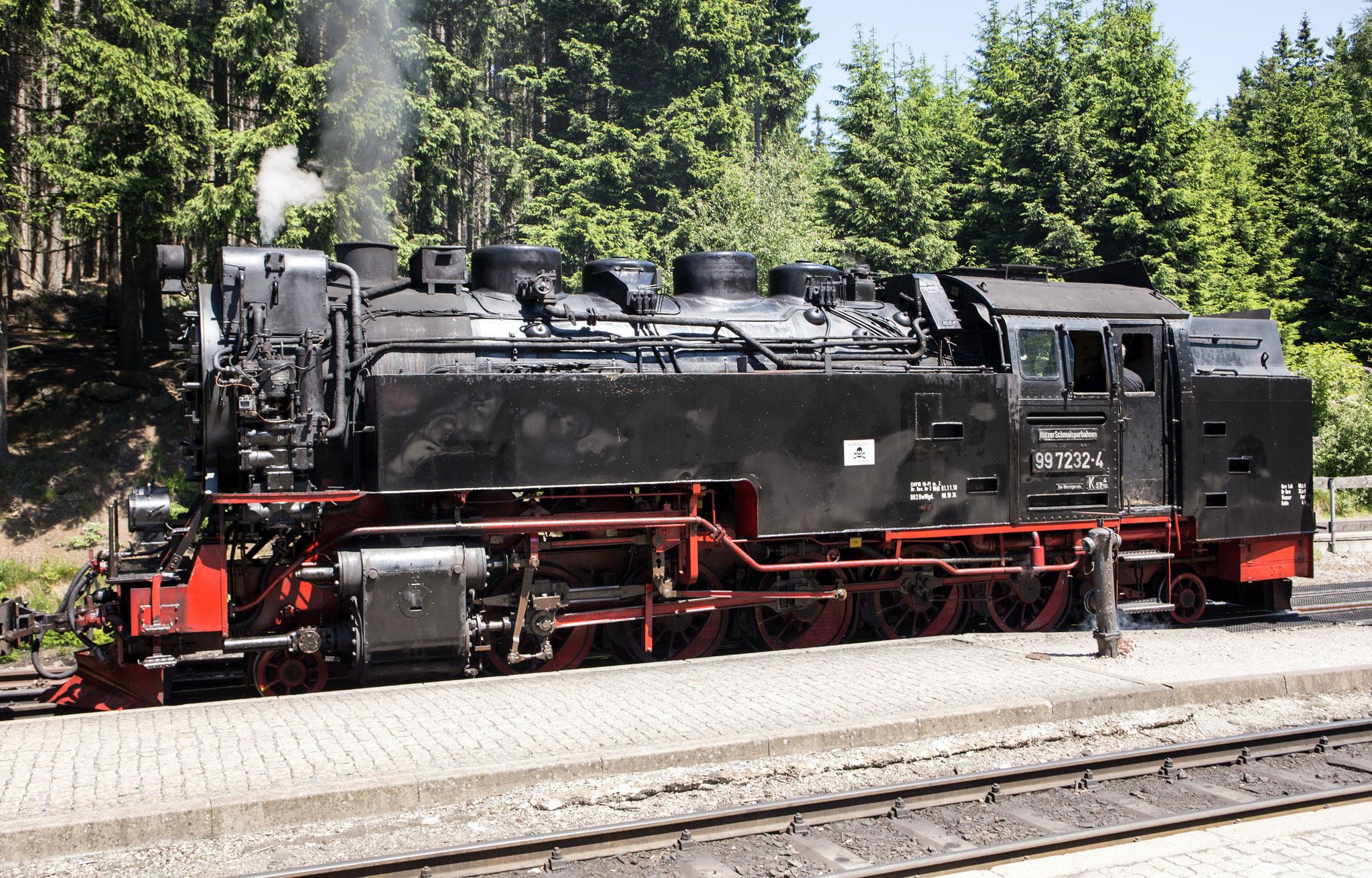 Die Lok der Harzer Schmalspurbahn