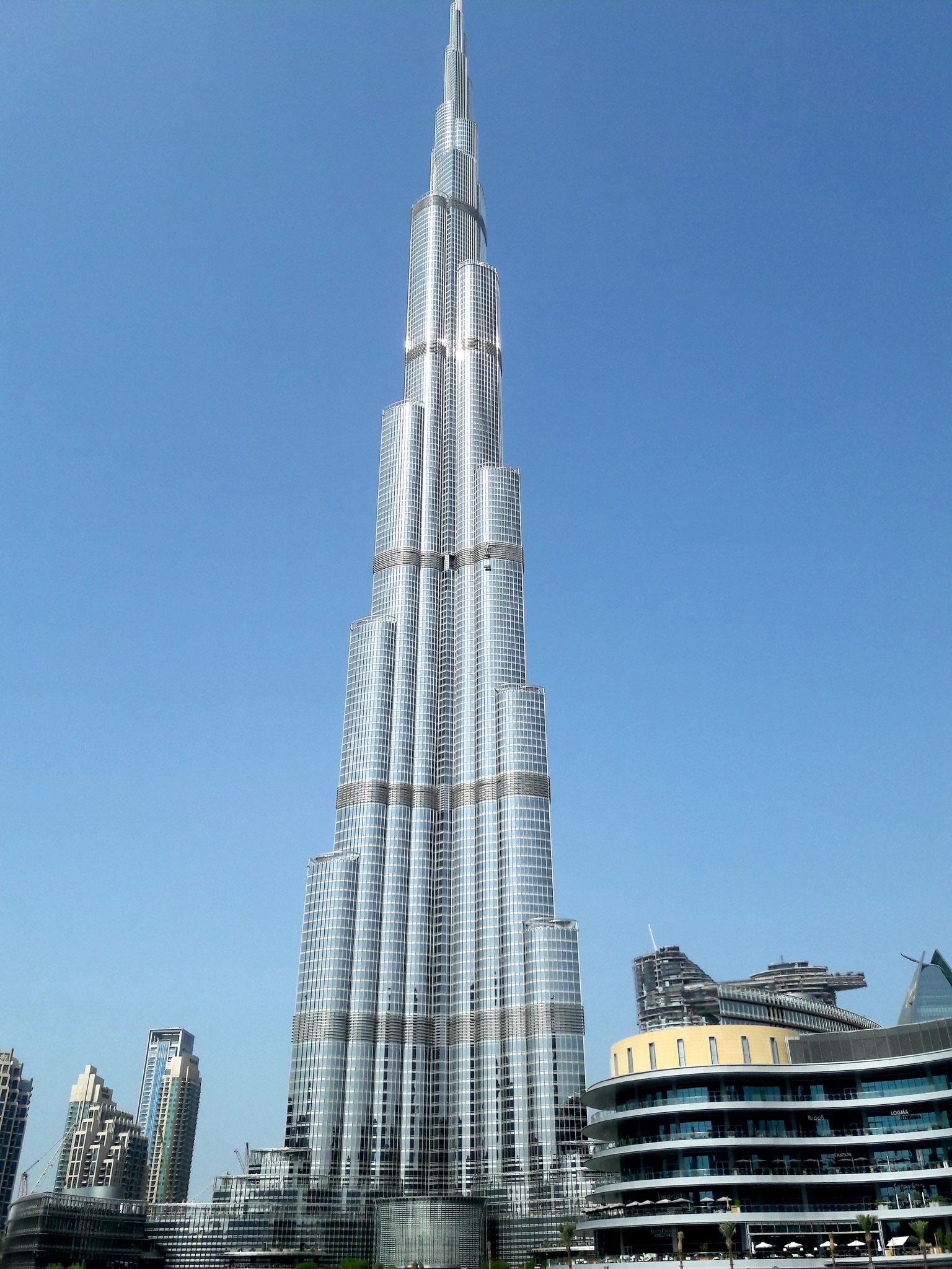 Der Burj Khalifa wurde im Januar 2010 eröffnet