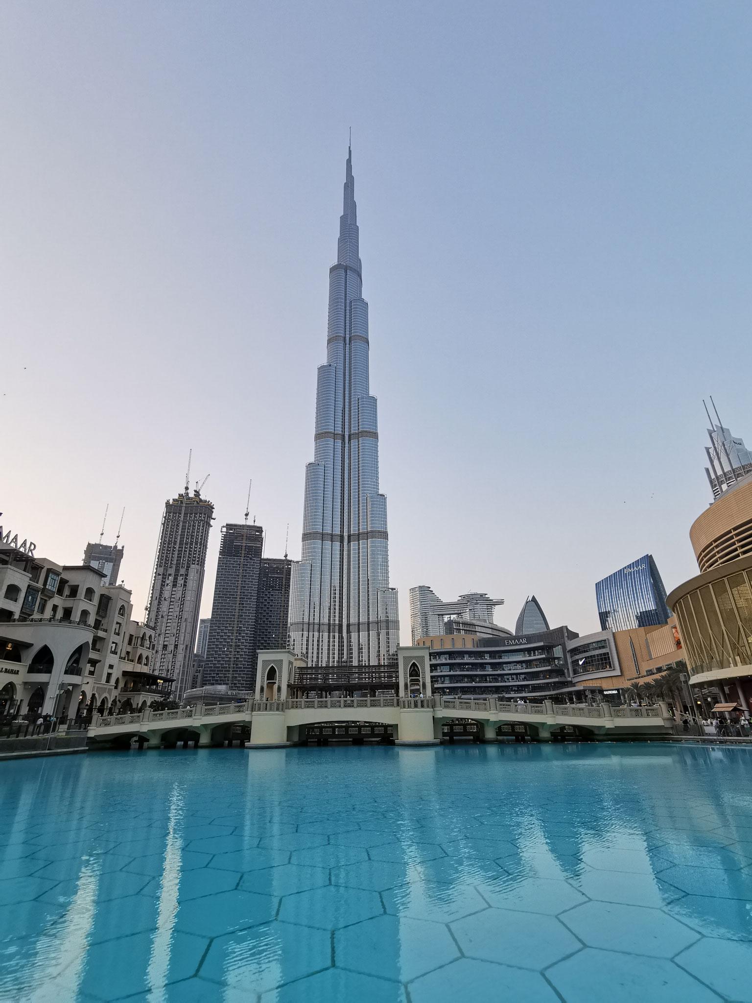 Das höchste Gebäude der Welt - Der Burj Khalifa
