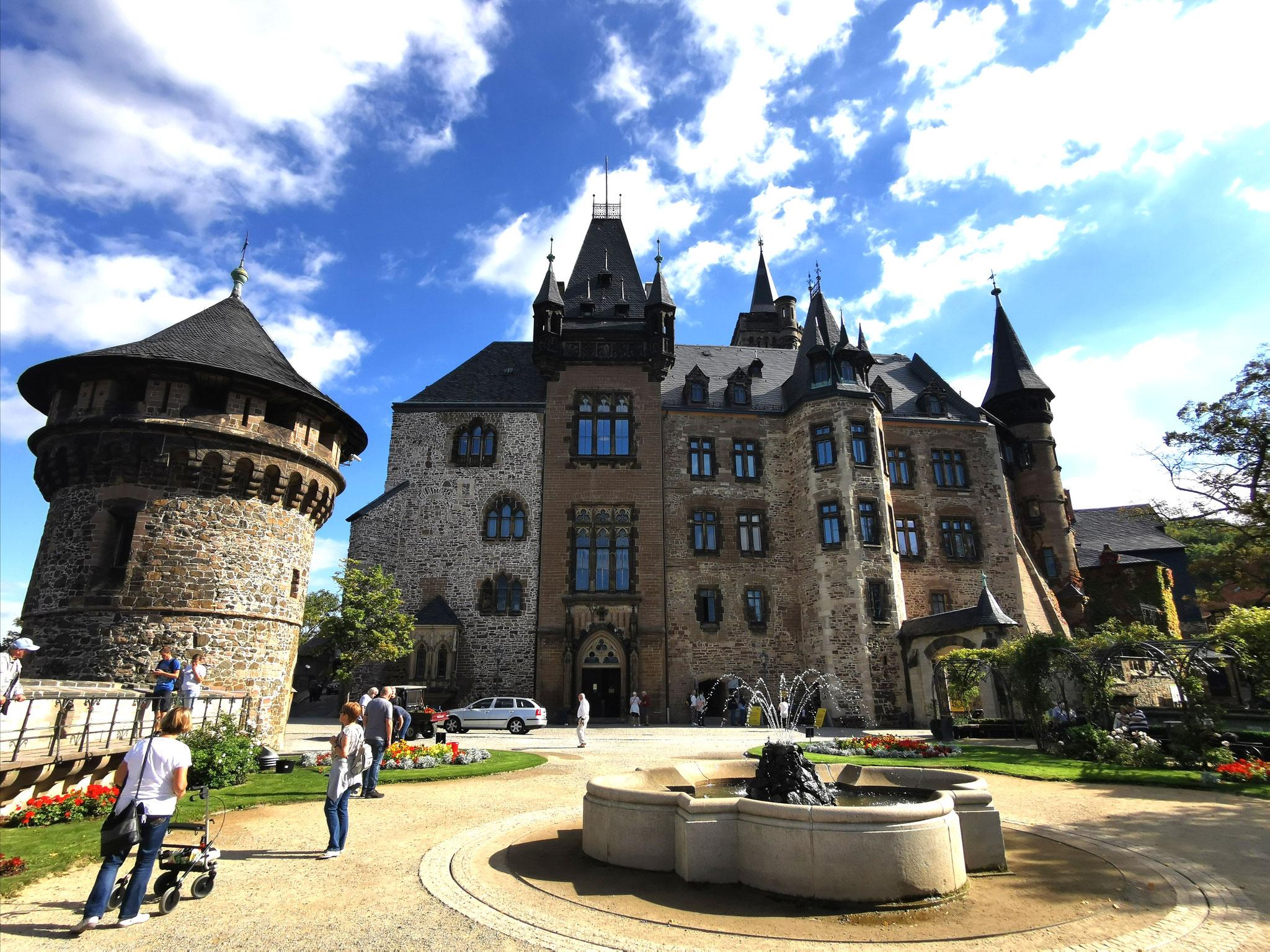 Ansicht von der Schlossterasse