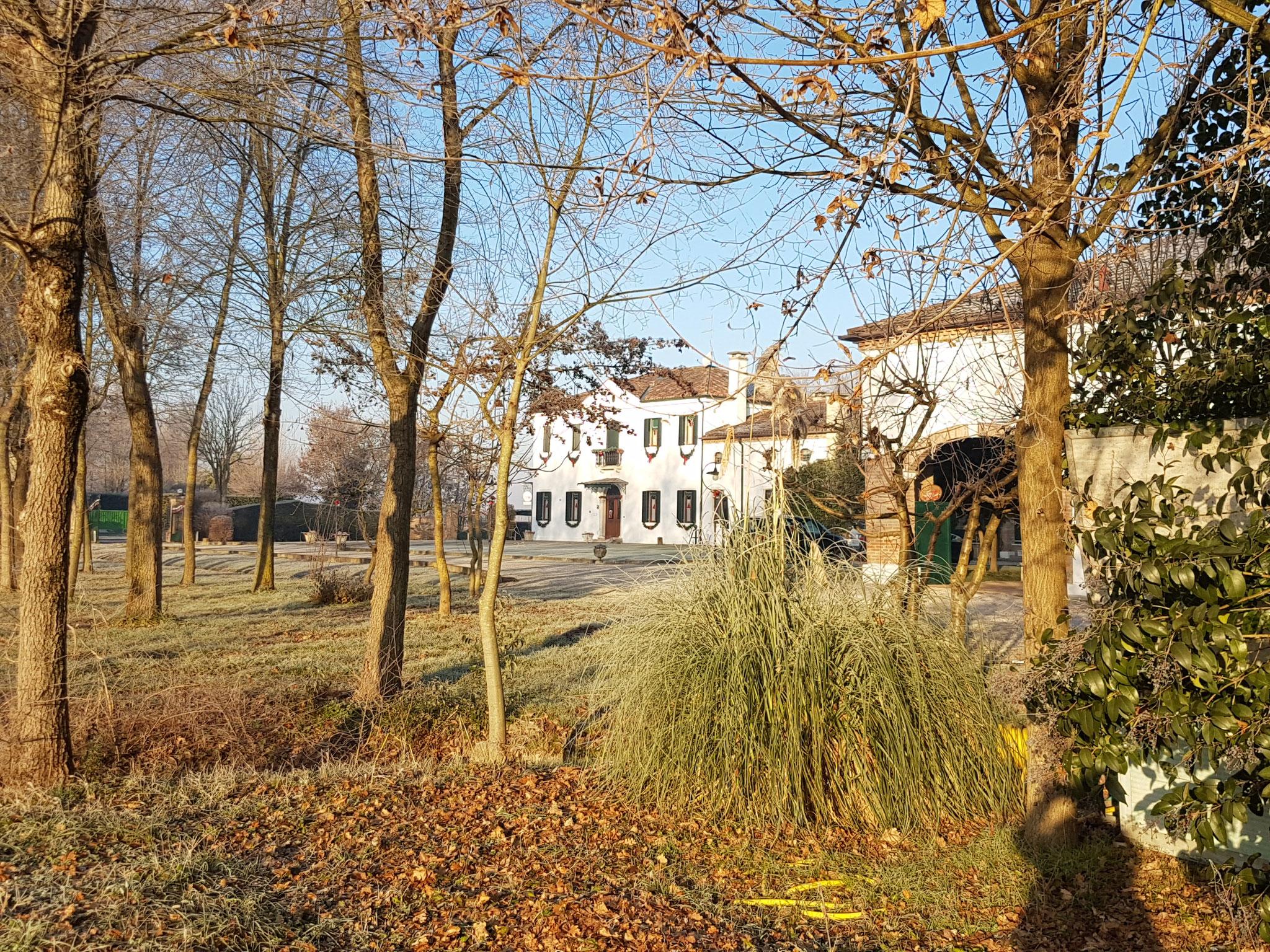 Villa Greggio - unsere Unterkunft für die Zeit in Italien